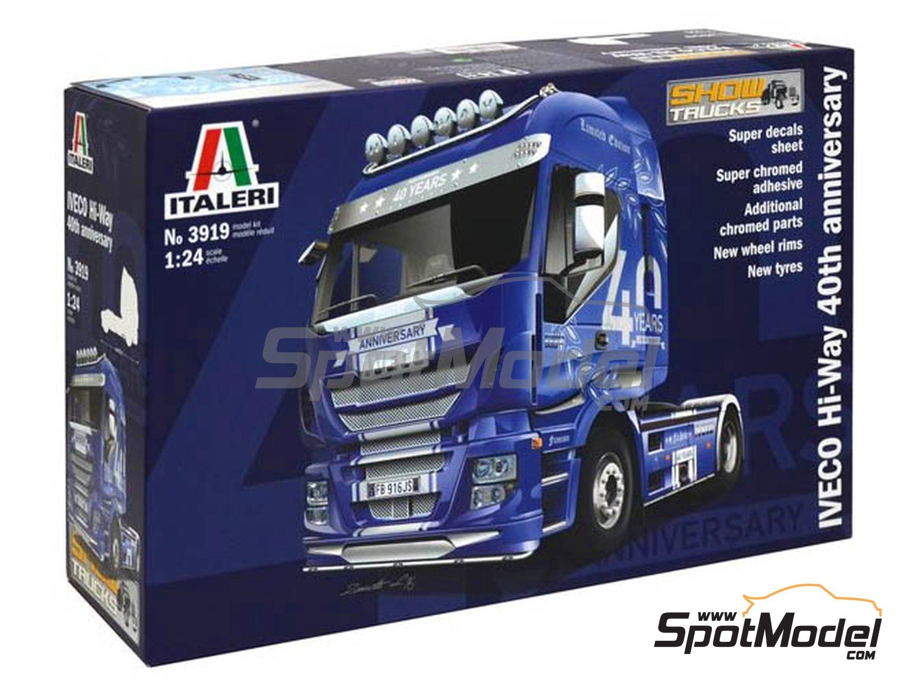 Image 1: Iveco Stralis 560 Hi-Way | Maqueta de camión en escala1/24 fabricado por Italeri (ref.3919)