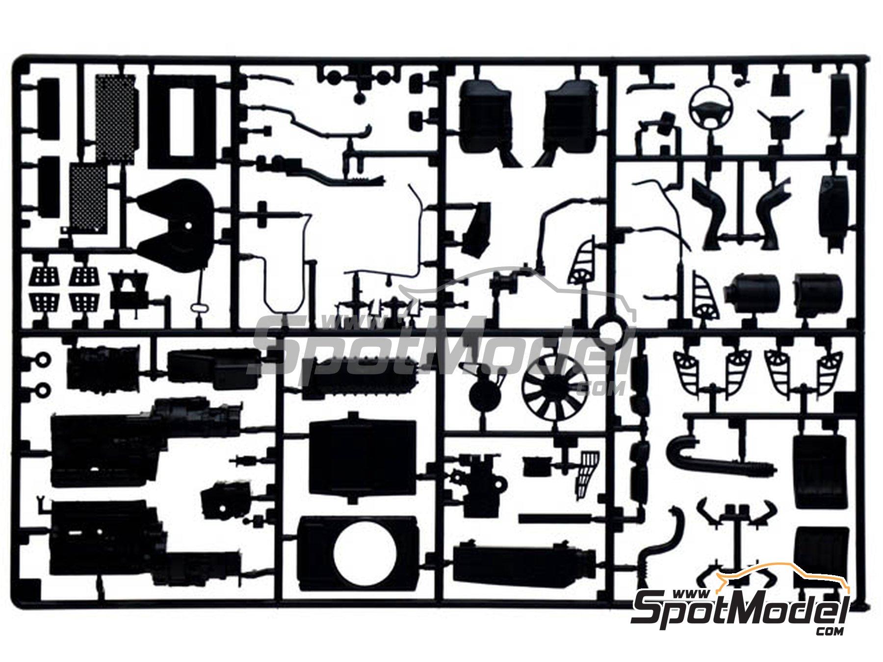 Image 6: Iveco Stralis 560 Hi-Way | Maqueta de camión en escala1/24 fabricado por Italeri (ref.3919)