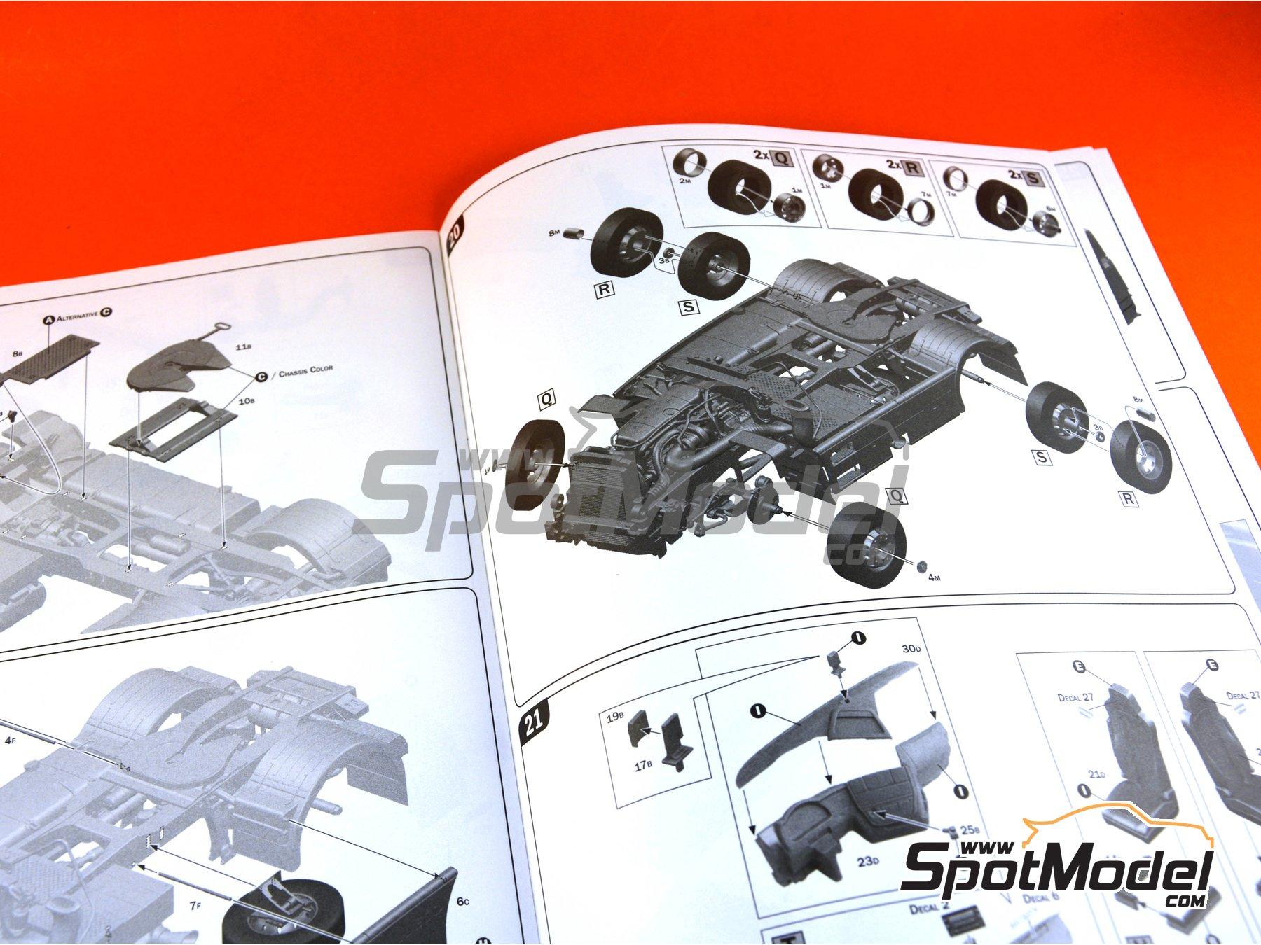 Image 27: Iveco Stralis 560 Hi-Way | Maqueta de camión en escala1/24 fabricado por Italeri (ref.3919)