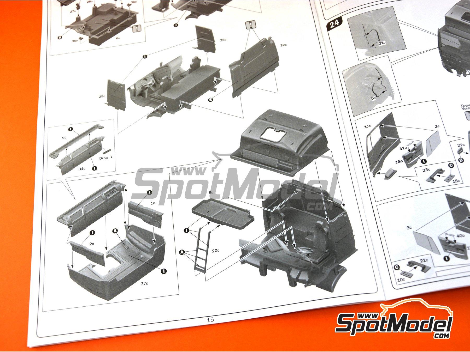 Image 28: Iveco Stralis 560 Hi-Way | Maqueta de camión en escala1/24 fabricado por Italeri (ref.3919)
