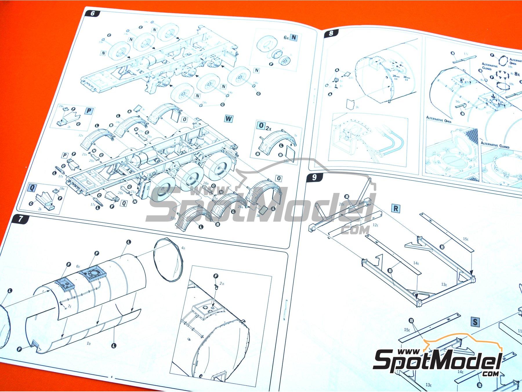 Image 20: Tecnokar 20' | Trailer kit in 1/24 scale manufactured by Italeri (ref.3929)