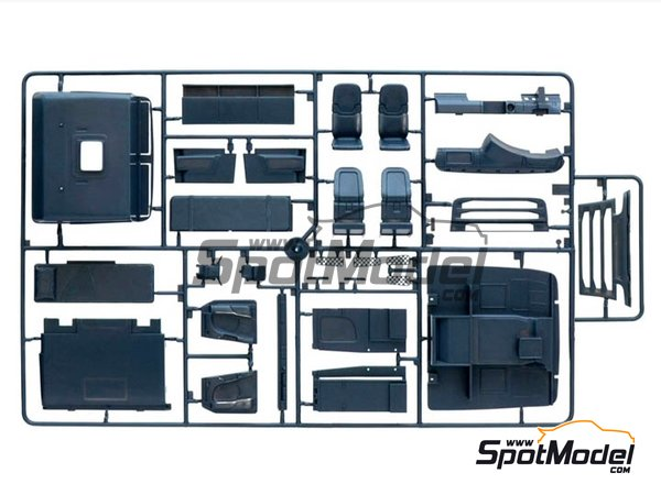 Image 6: Scania R730 V8 Streamline | Model truck kit in 1/24 scale manufactured by Italeri (ref. 3930)