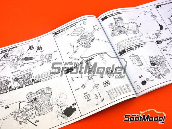 Image 25: Moto Guzzi V850 California | Model bike kit in 1/6 scale manufactured by Italeri (ref.4513)