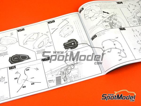 Image 27: Moto Guzzi V850 California | Maqueta de moto en escala1/6 fabricado por Italeri (ref.4513)