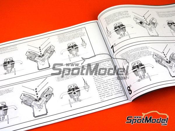 Image 28: Moto Guzzi V850 California | Model bike kit in 1/6 scale manufactured by Italeri (ref.4513)