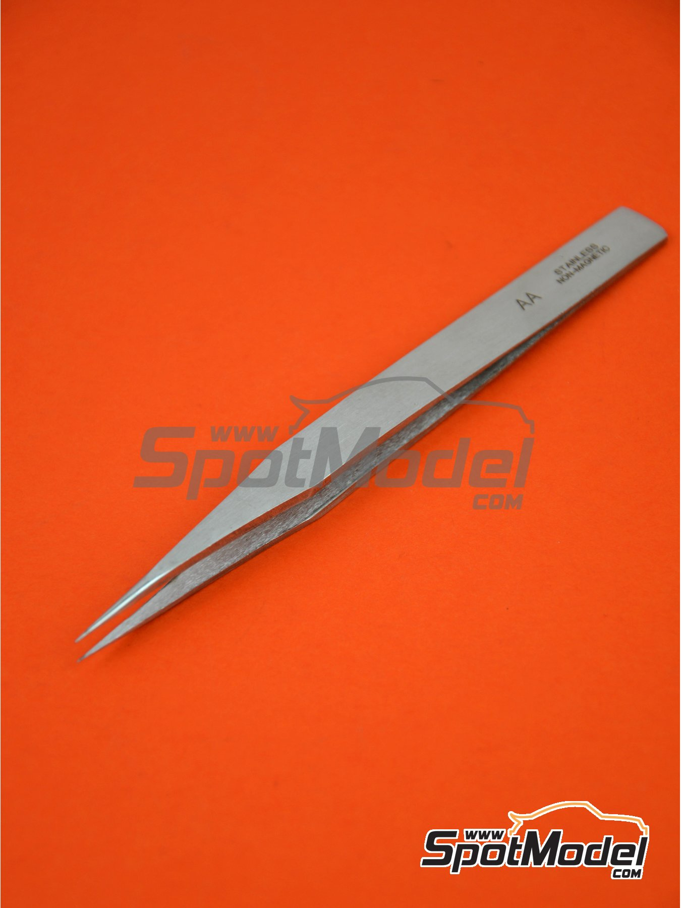 Precision tweezers straight | Tools manufactured by Italeri (ref. 50814) image