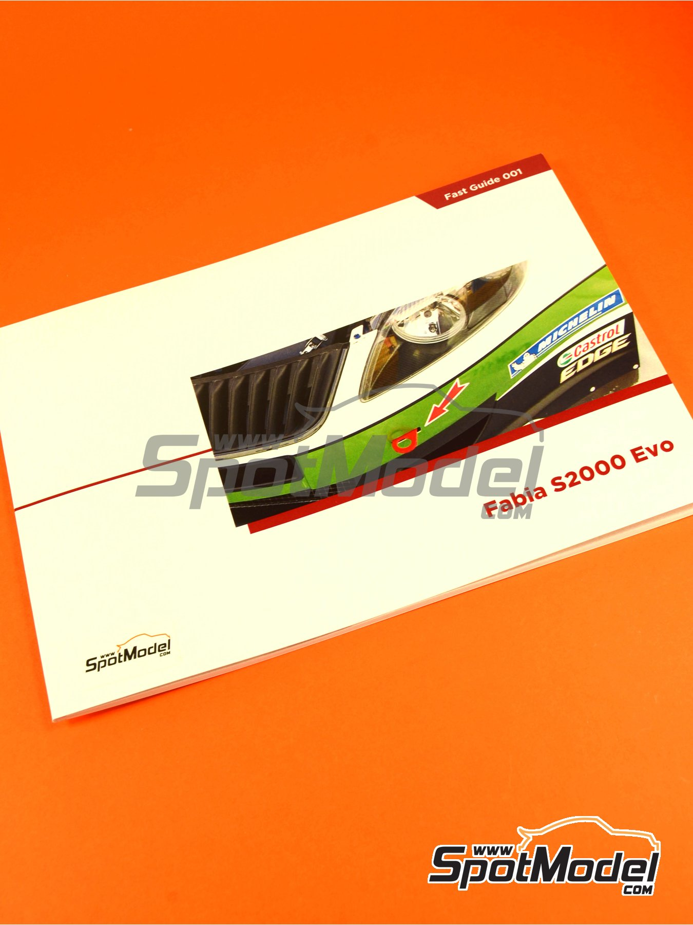 Skoda Fabia S2000 | Reference / walkaround book manufactured by Komakai (ref. KOM-FG001) image