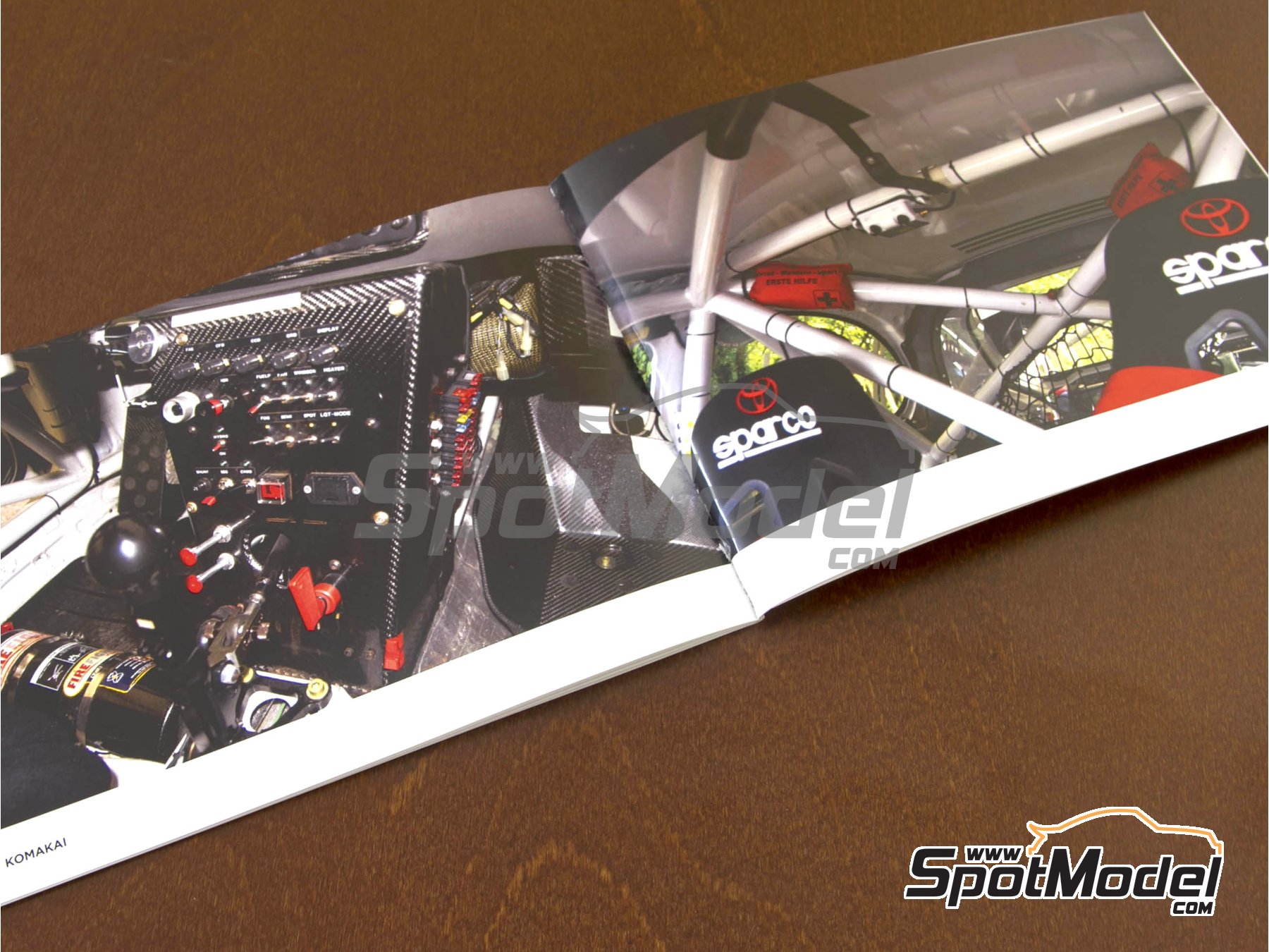 Image 1: Toyota Corolla WRC -  1997 | Reference / walkaround book manufactured by Komakai (ref. KOM-FG003)