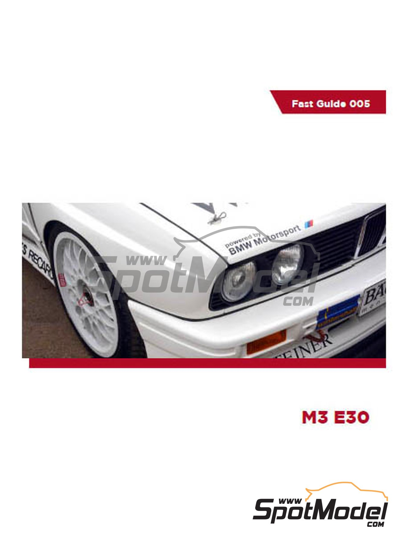 BMW M3 E30 - DTM | Reference / walkaround book manufactured by Komakai (ref. KOM-FG005) image
