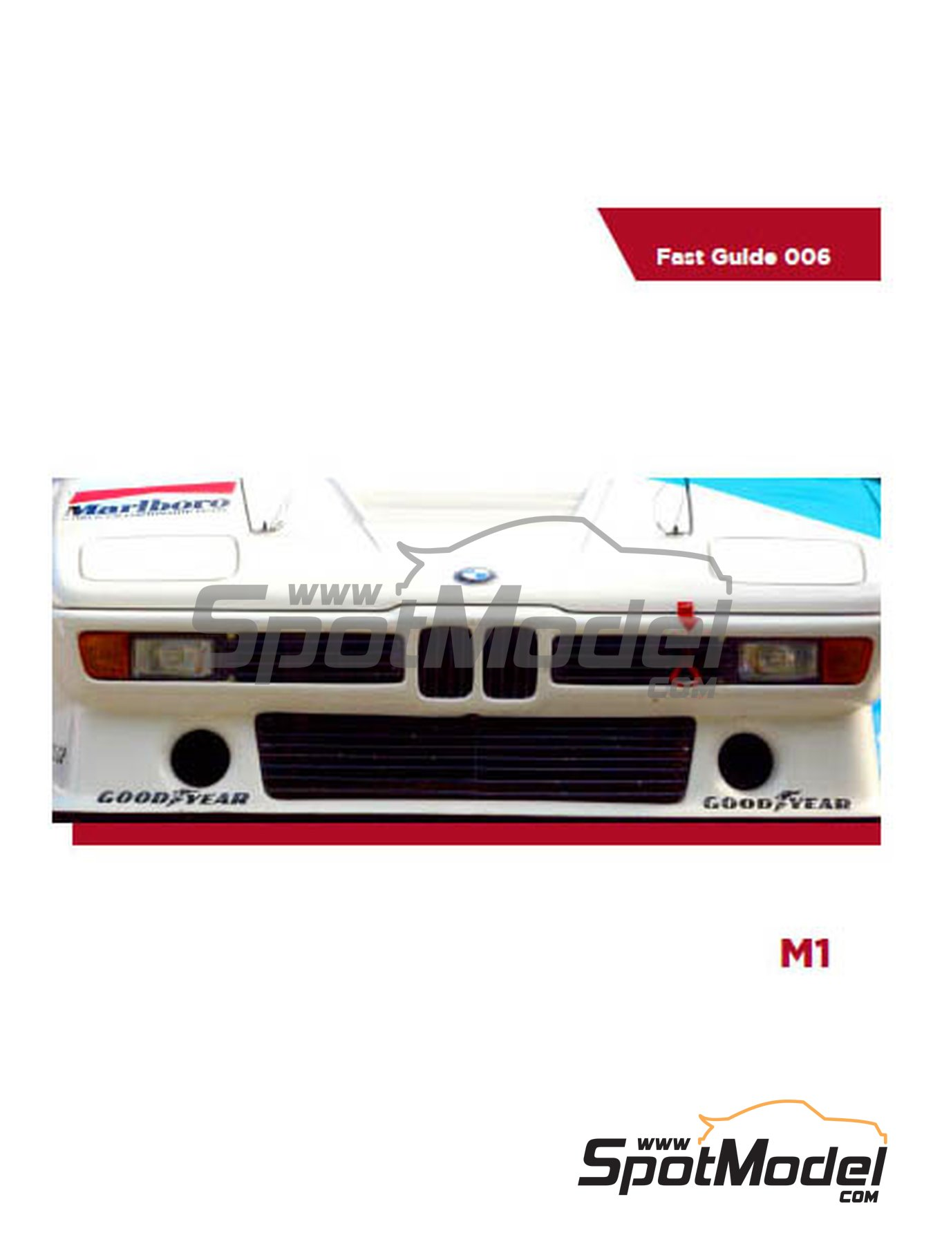 BMW M1 | Libro de referencia fabricado por Komakai (ref.KOM-FG006) image