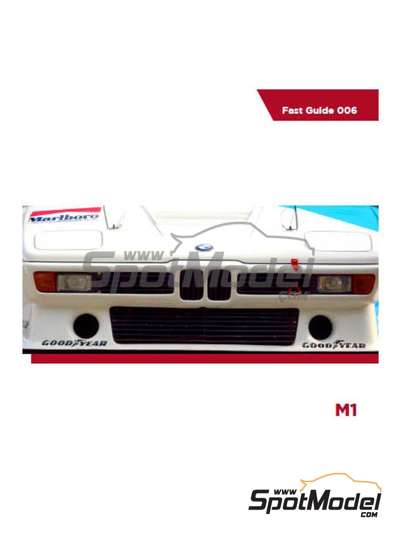 BMW M1 | Reference / walkaround book manufactured by Komakai (ref.KOM-FG006) image