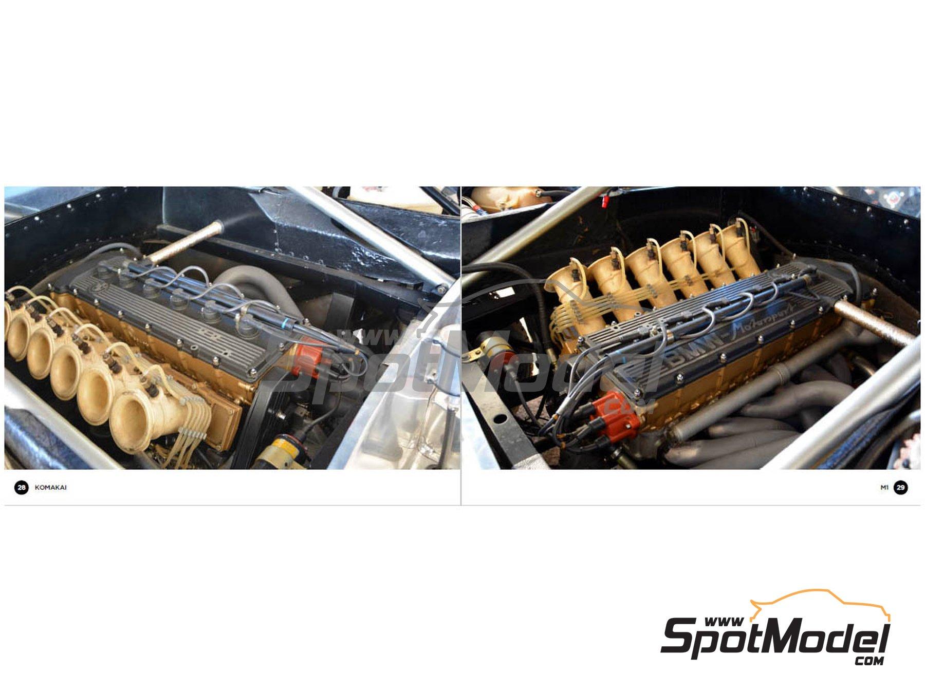 Image 2: BMW M1 | Reference / walkaround book manufactured by Komakai (ref.KOM-FG006)