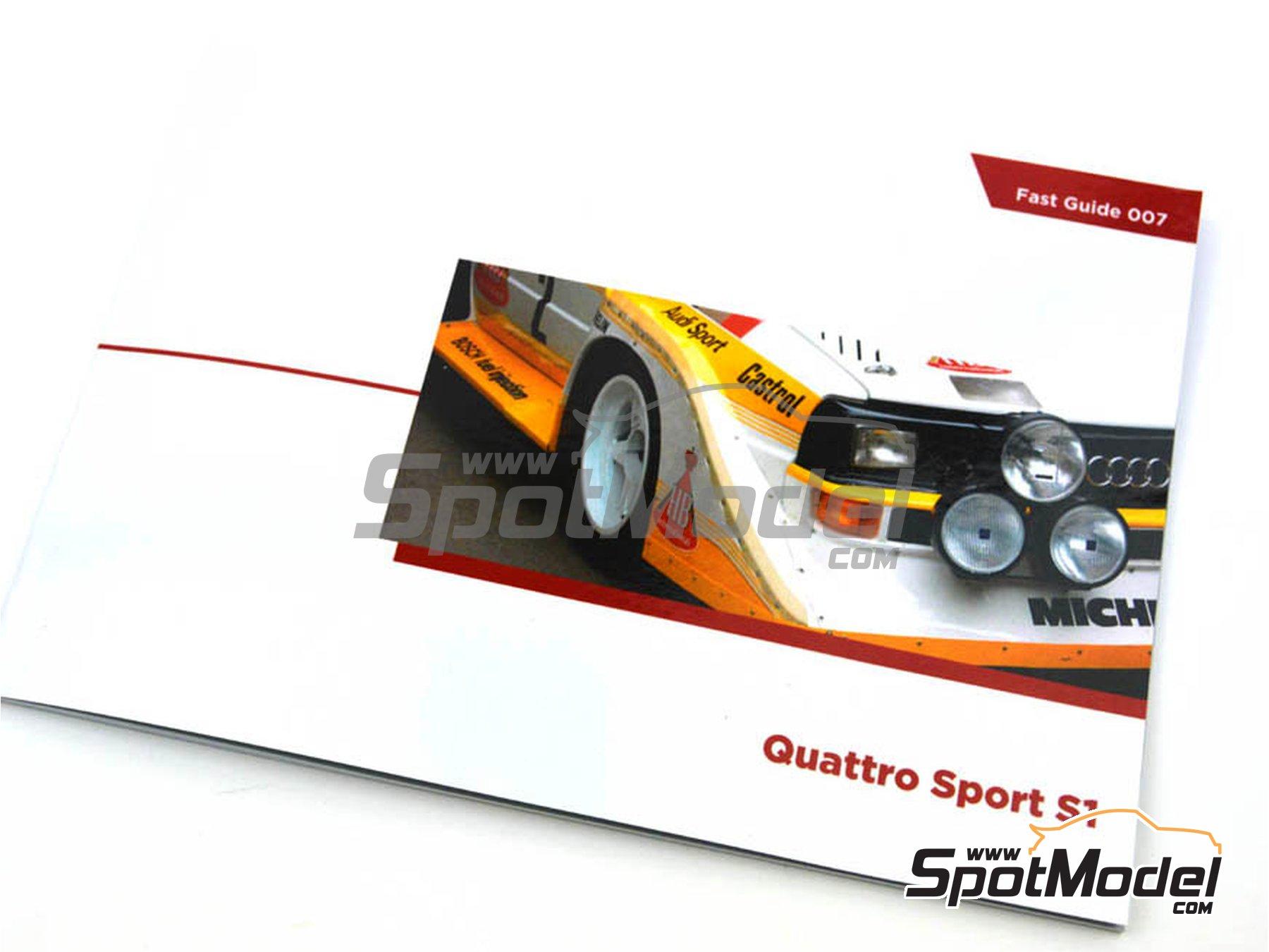 Image 1: Audi Quattro Sport S1 | Reference / walkaround book manufactured by Komakai (ref.KOM-FG007)