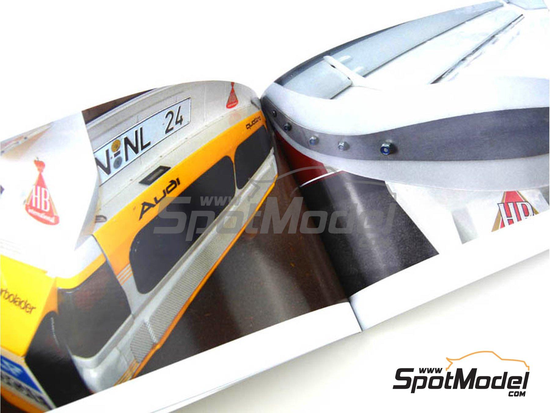 Image 3: Audi Quattro Sport S1 | Reference / walkaround book manufactured by Komakai (ref.KOM-FG007)