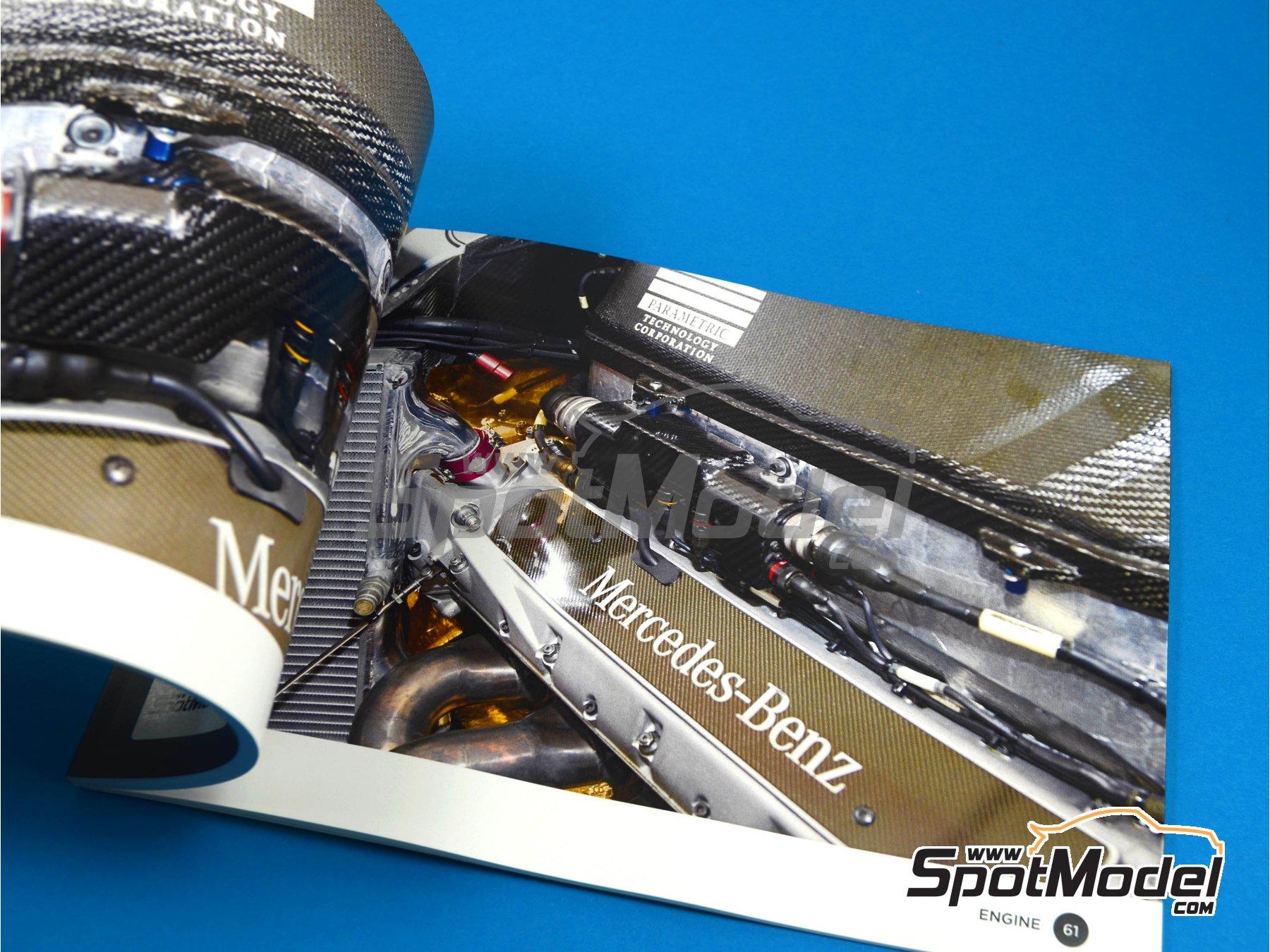 Image 11: McLaren MP4/13 | Reference / walkaround book manufactured by Komakai (ref.KOM-UDG001)