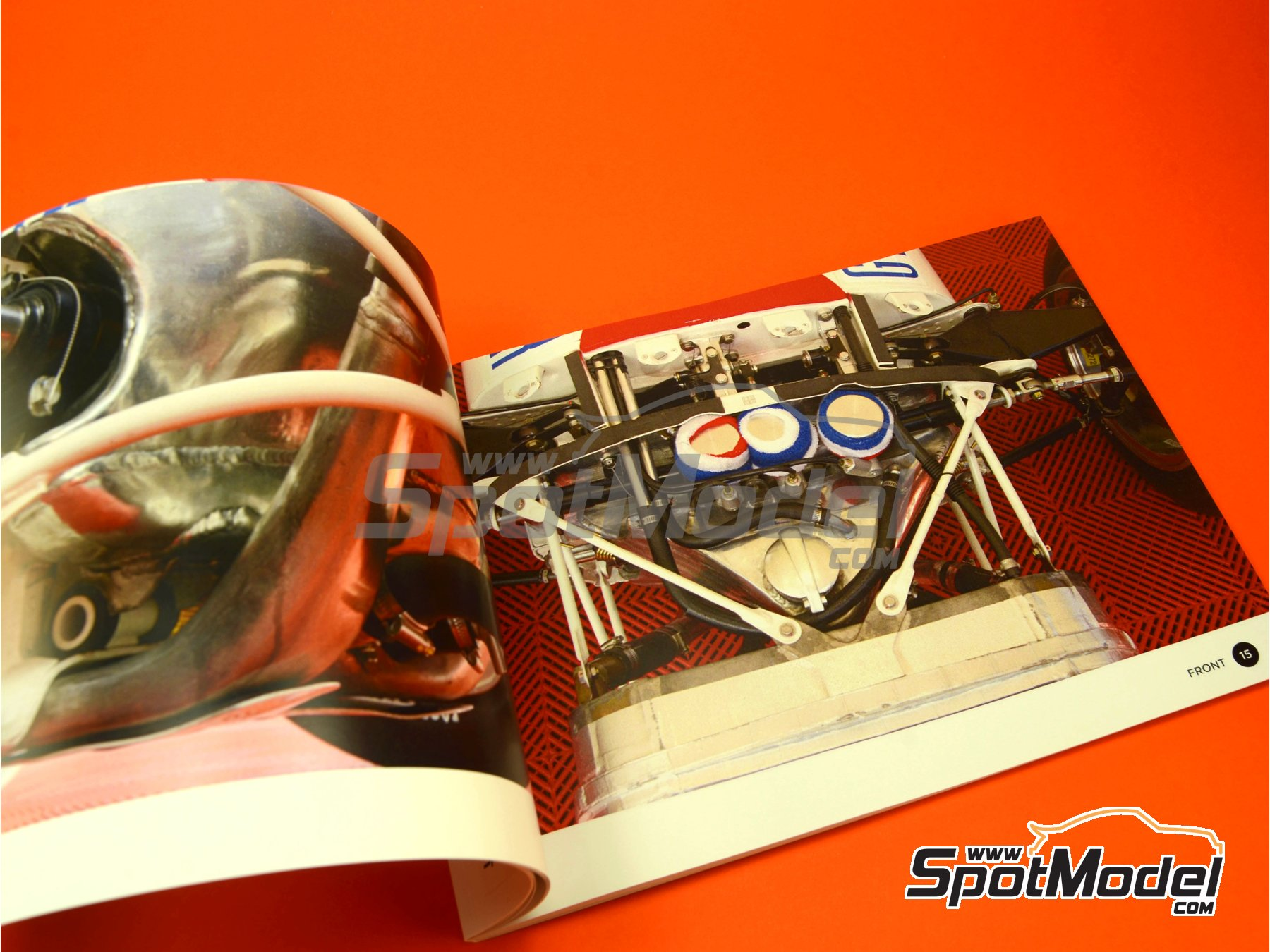 Image 3: Honda RA272 | Reference / walkaround book manufactured by Komakai (ref. KOM-UDG005)