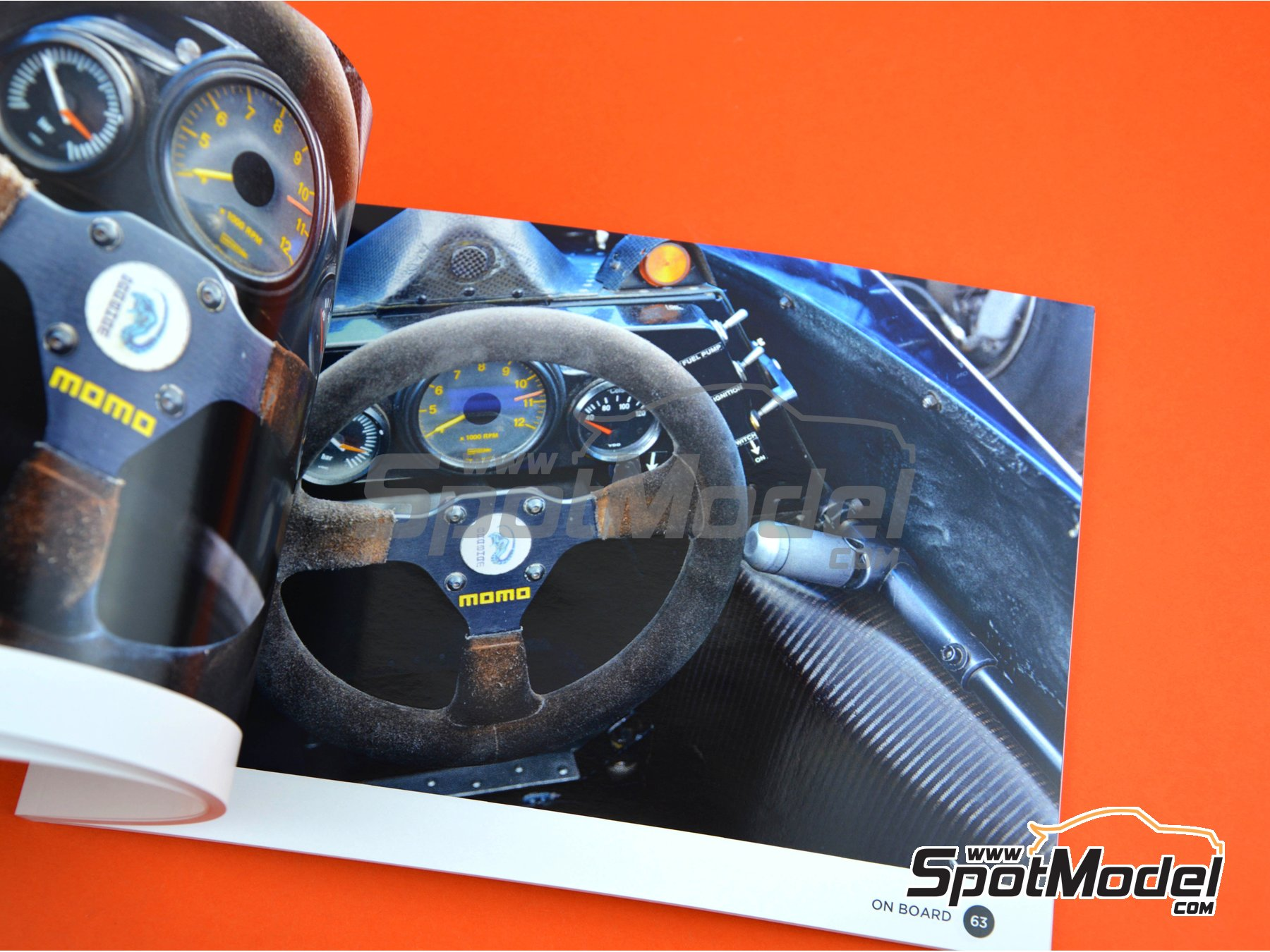 Image 6: Brabham BMW BT52b | Reference / walkaround book manufactured by Komakai (ref. KOM-UDG009)