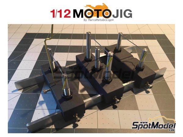 Image 1: MotoJig 2017 Basic | Herramientas en escala1/12 fabricado por Marco Moto Design (ref.MOTOJIG-BASIC)