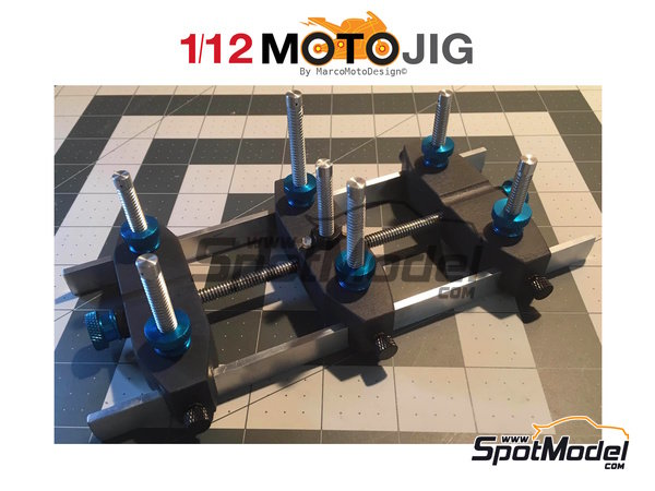 Image 1: MotoJig 2017 Mk III advanced | Tools in 1/12 scale manufactured by Marco Moto Design (ref. MOTOJIG2017MKIII)