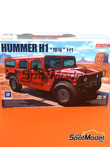 Hummer H1 | Model car kit in 1/24 scale manufactured by Meng Model (ref. CS-002) image