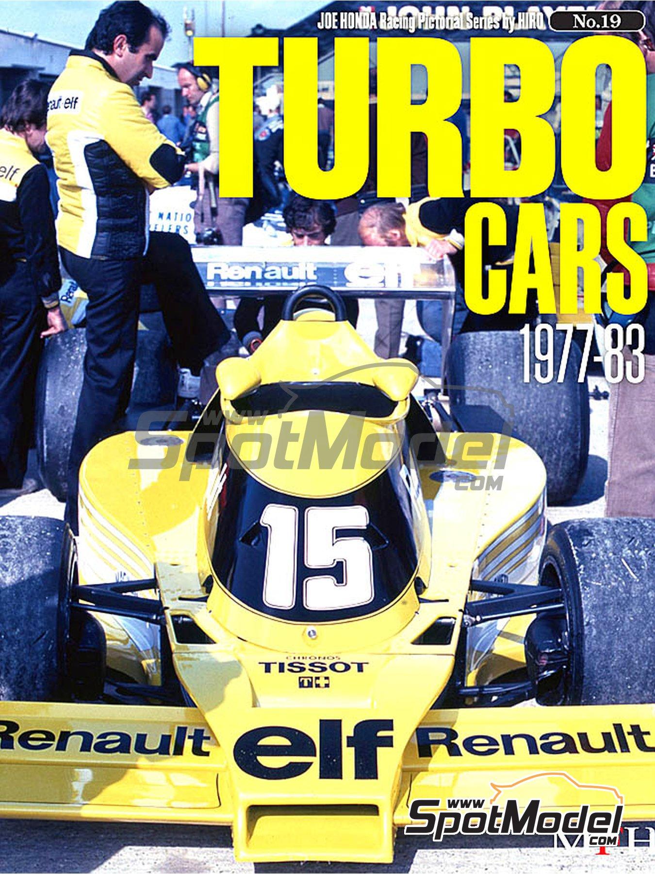 JOE HONDA Racing Pictorial Series - Turbo Cars - Coches con turbo -  1977, 1978, 1979, 1980, 1981, 1982 y 1983 | Libro de referencia fabricado por Model Factory Hiro (ref.MFH-JH19) image