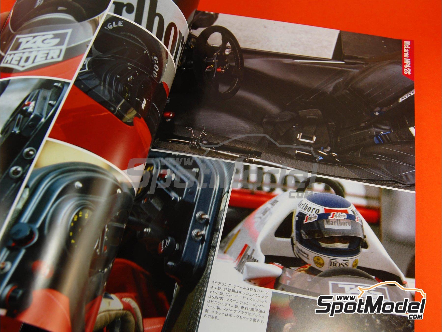 Image 2: JOE HONDA Racing Pictorial Series - All The TURBO CARS -  1986 | Libro de referencia fabricado por Model Factory Hiro (ref.MFH-JH25)