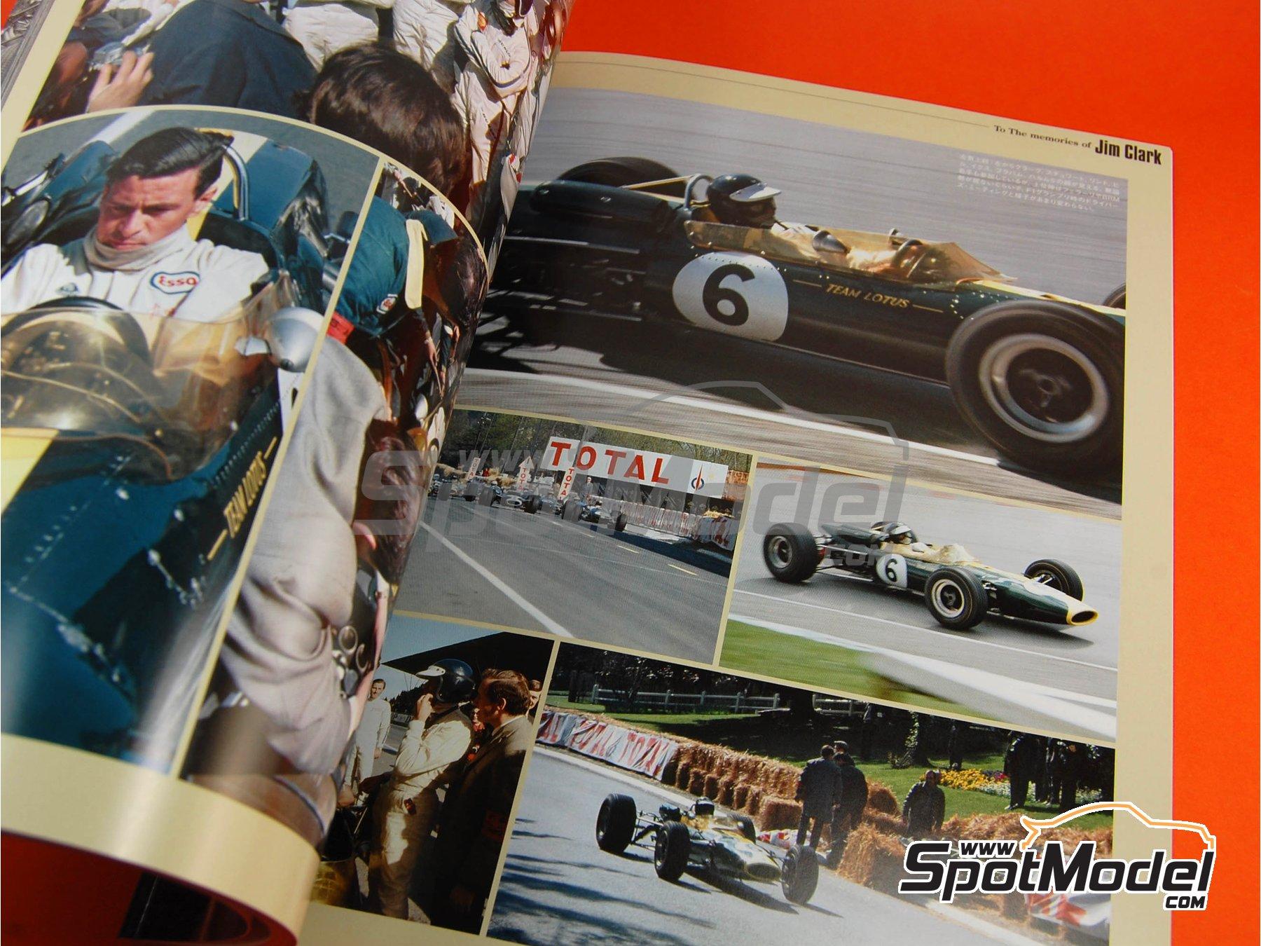 Image 8: JOE HONDA Racing Pictorial Series - Lotus 49 - Campeonato del Mundo de Formula1 1967 | Libro de referencia fabricado por Model Factory Hiro (ref.MFH-JH26)