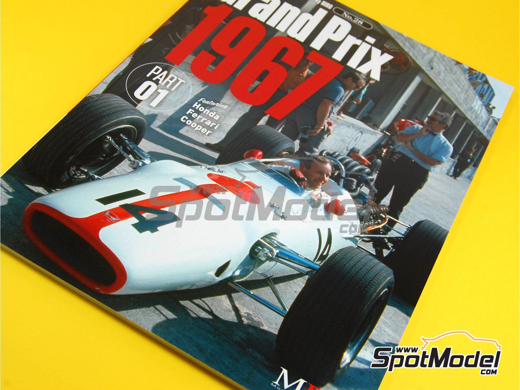 Image 1: JOE HONDA Racing Pictorial Series - Grand Prix Cars - Primer volumen -  1967   Libro de referencia fabricado por Model Factory Hiro (ref.MFH-JH28)