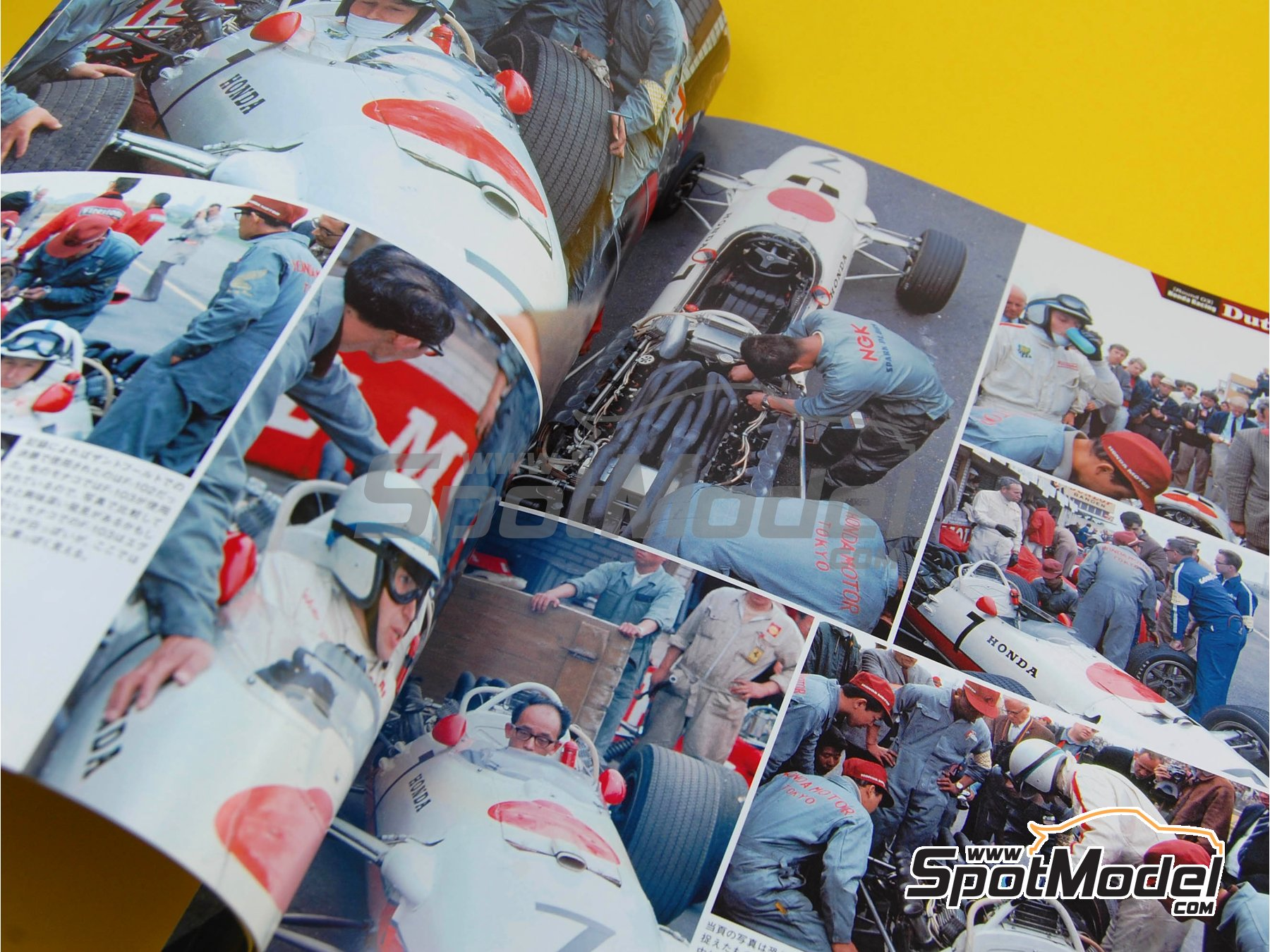 Image 2: JOE HONDA Racing Pictorial Series - Grand Prix Cars - Primer volumen -  1967   Libro de referencia fabricado por Model Factory Hiro (ref.MFH-JH28)