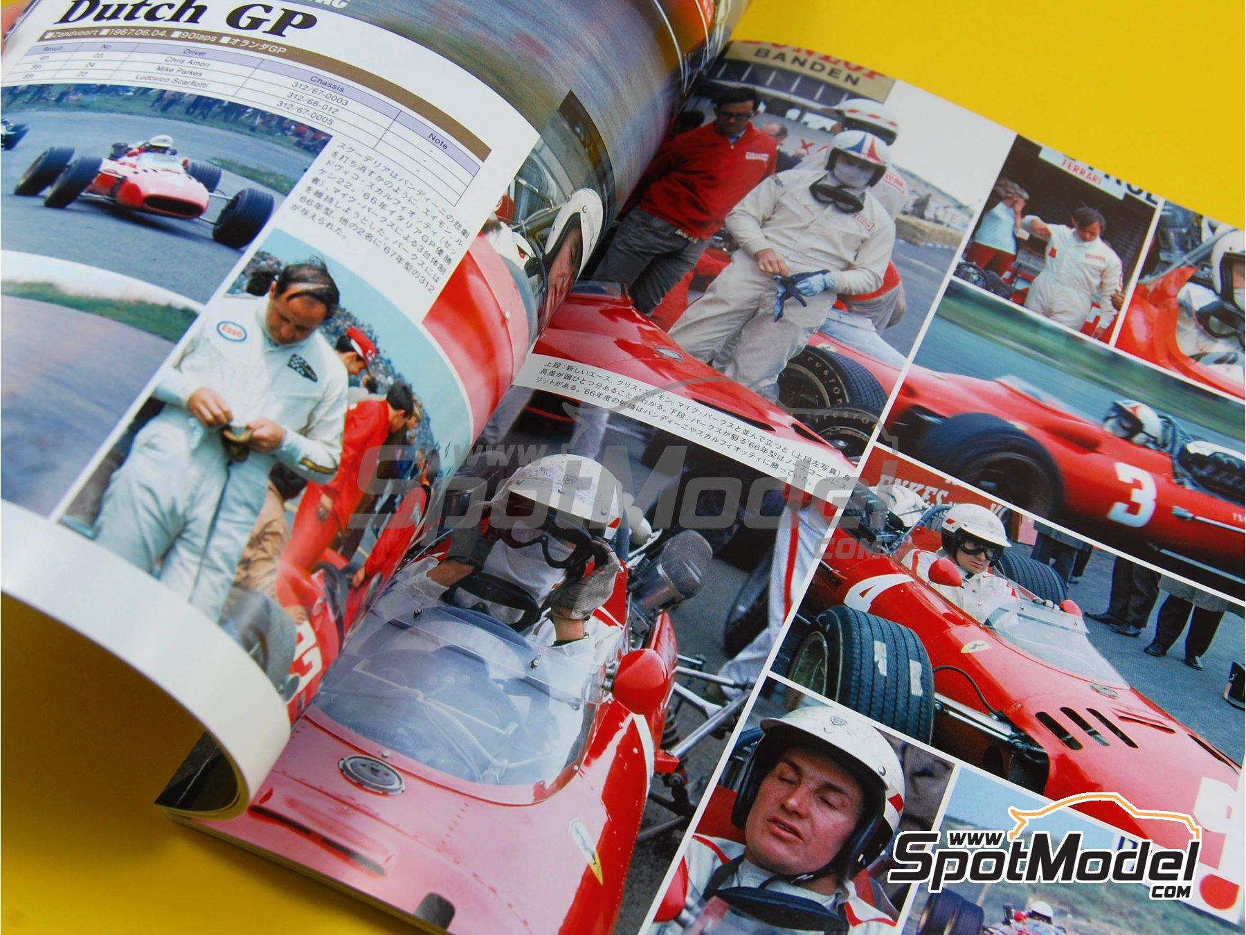 Image 5: JOE HONDA Racing Pictorial Series - Grand Prix Cars - Primer volumen -  1967   Libro de referencia fabricado por Model Factory Hiro (ref.MFH-JH28)