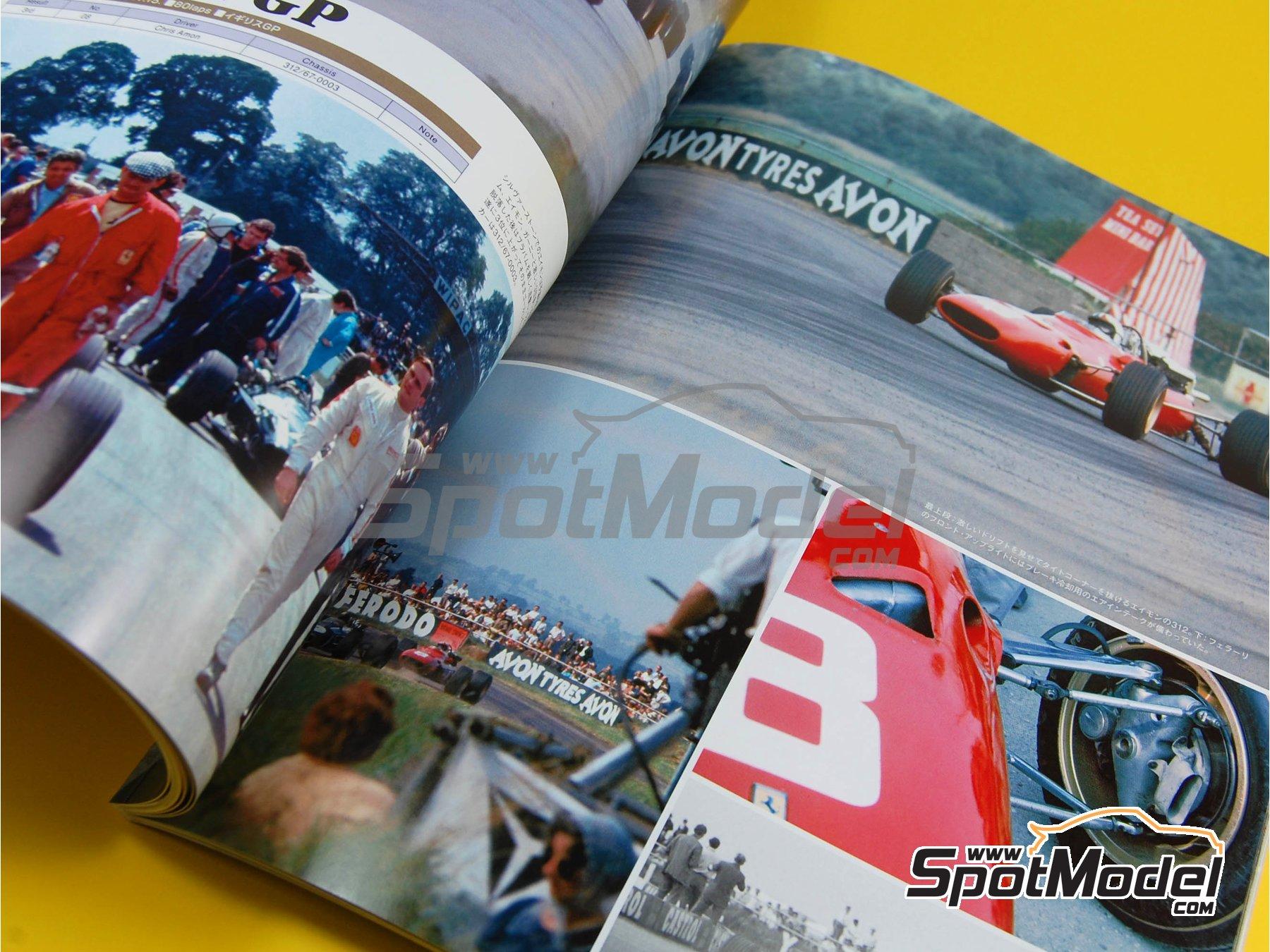 Image 6: JOE HONDA Racing Pictorial Series - Grand Prix Cars - Primer volumen -  1967   Libro de referencia fabricado por Model Factory Hiro (ref.MFH-JH28)