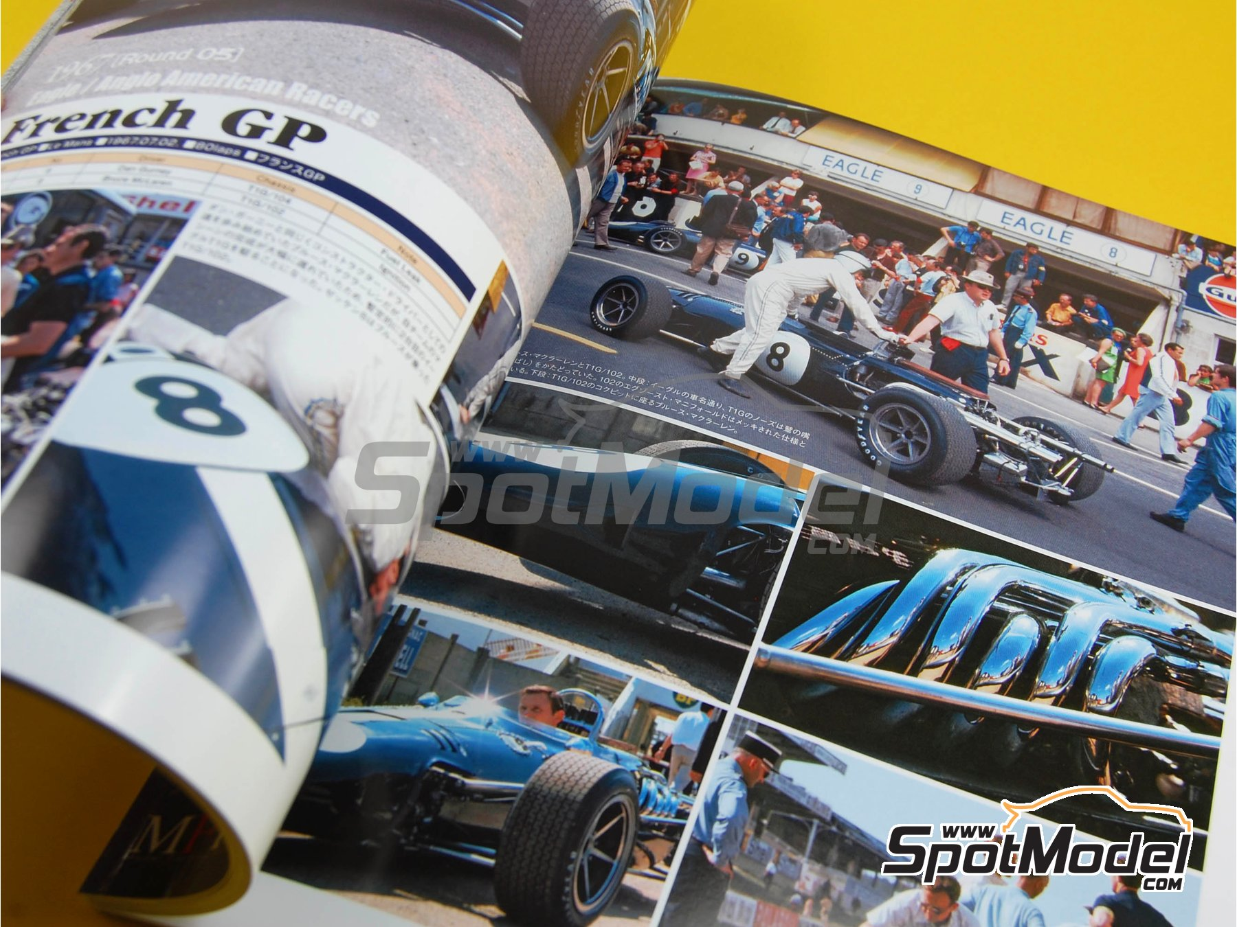 Image 6: JOE HONDA Racing Pictorial Series - Grand Prix Cars - Segundo volumen -  1967 | Libro de referencia fabricado por Model Factory Hiro (ref. MFH-JH29)