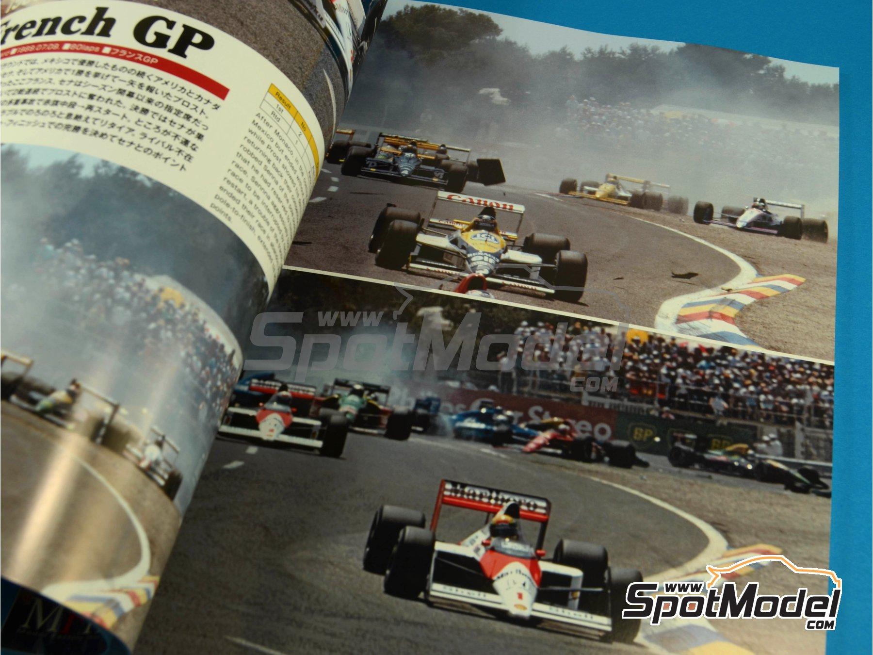 Image 2: JOE HONDA Racing Pictorial Series - McLaren MP4/5 - FIA Formula 1 World Championship 1989 | Reference / walkaround book manufactured by Model Factory Hiro (ref.MFH-JH30)