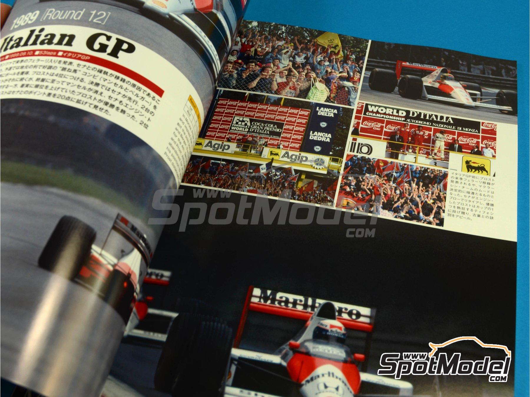 Image 3: JOE HONDA Racing Pictorial Series - McLaren MP4/5 - FIA Formula 1 World Championship 1989 | Reference / walkaround book manufactured by Model Factory Hiro (ref.MFH-JH30)