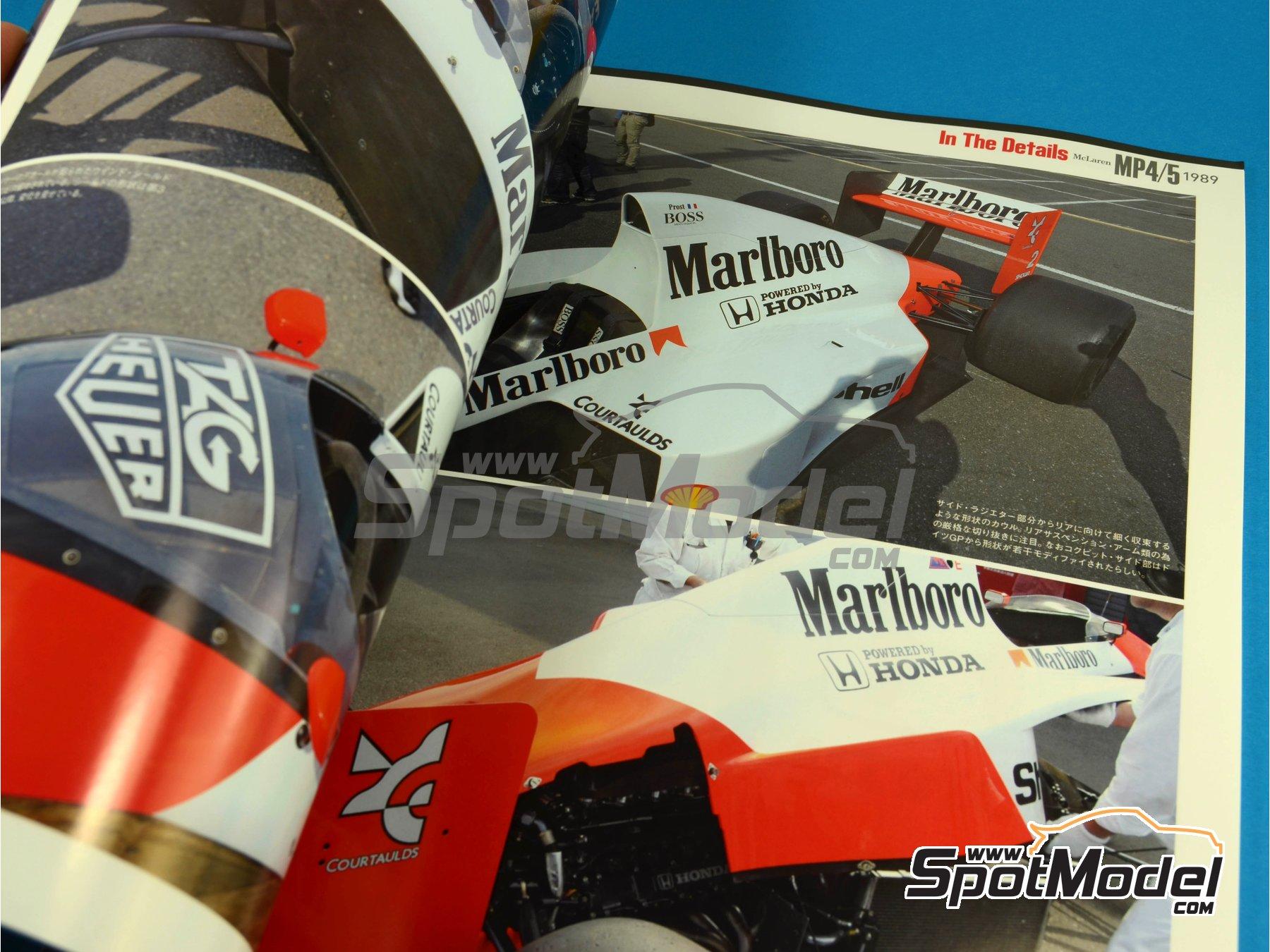 Image 6: JOE HONDA Racing Pictorial Series - McLaren MP4/5 - FIA Formula 1 World Championship 1989 | Reference / walkaround book manufactured by Model Factory Hiro (ref.MFH-JH30)