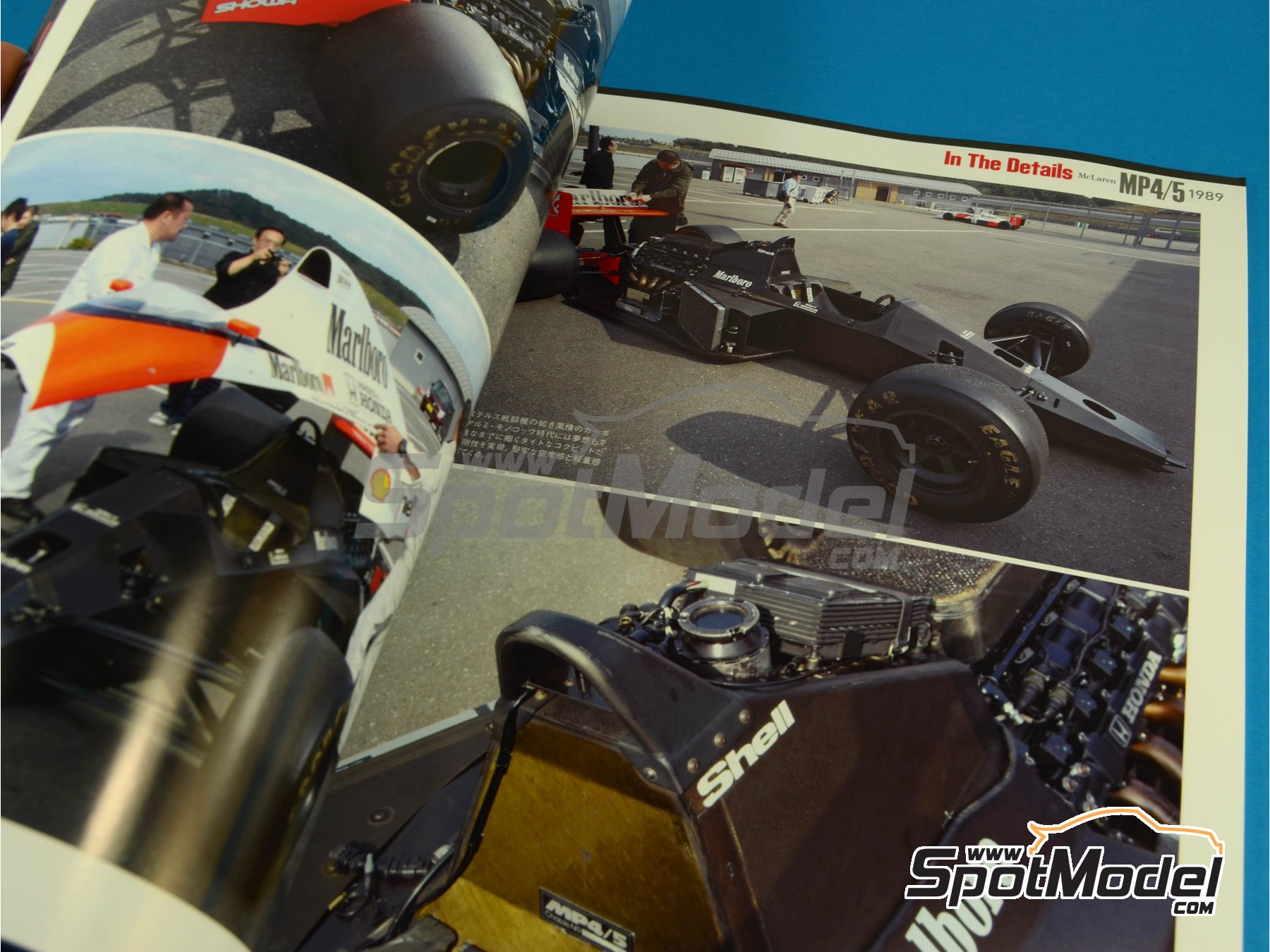 Image 7: JOE HONDA Racing Pictorial Series - McLaren MP4/5 - FIA Formula 1 World Championship 1989 | Reference / walkaround book manufactured by Model Factory Hiro (ref.MFH-JH30)