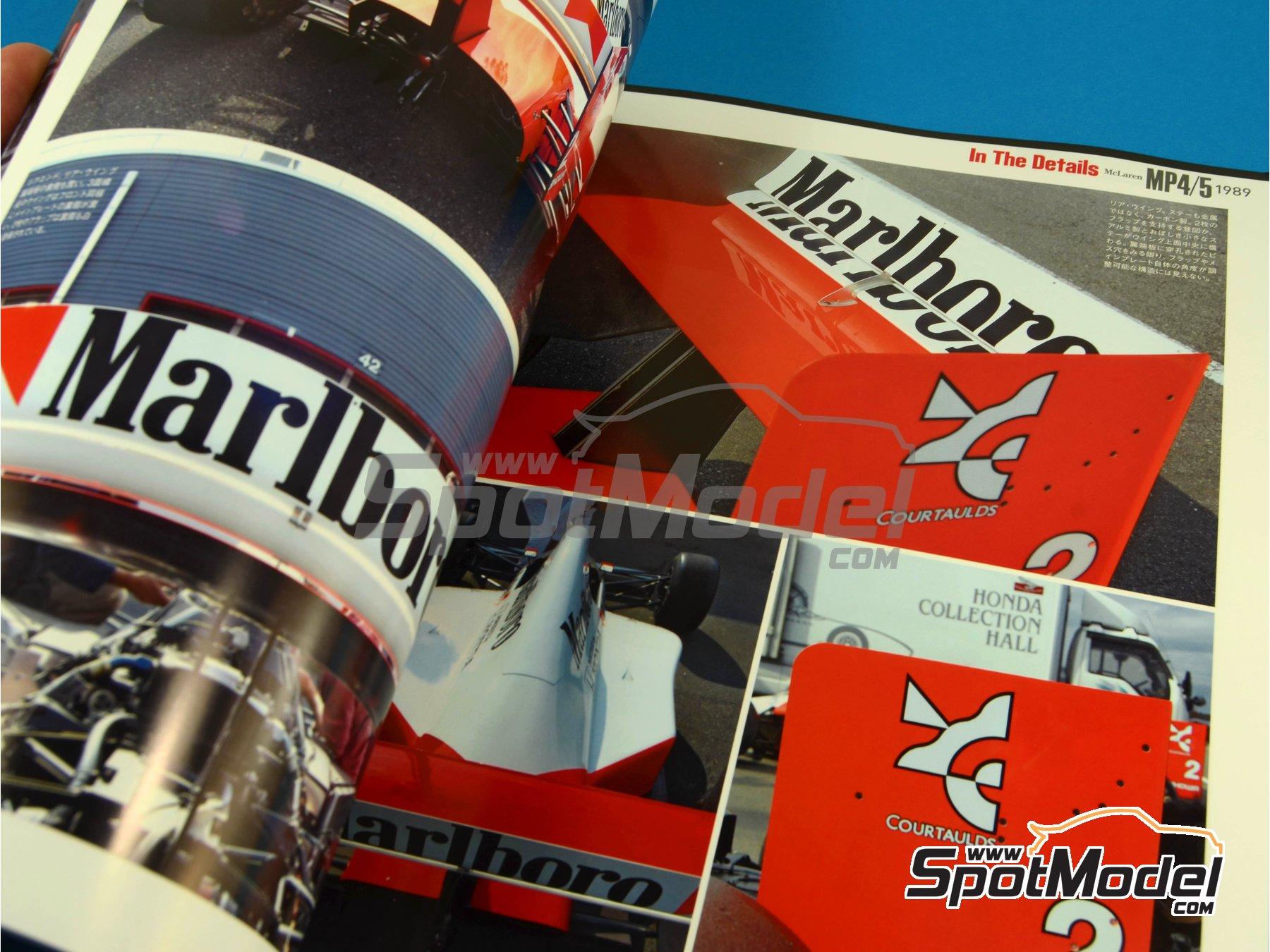 Image 8: JOE HONDA Racing Pictorial Series - McLaren MP4/5 - FIA Formula 1 World Championship 1989 | Reference / walkaround book manufactured by Model Factory Hiro (ref.MFH-JH30)