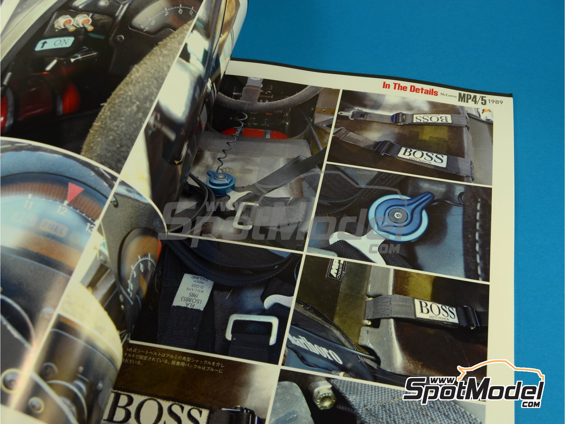 Image 10: JOE HONDA Racing Pictorial Series - McLaren MP4/5 - FIA Formula 1 World Championship 1989 | Reference / walkaround book manufactured by Model Factory Hiro (ref.MFH-JH30)