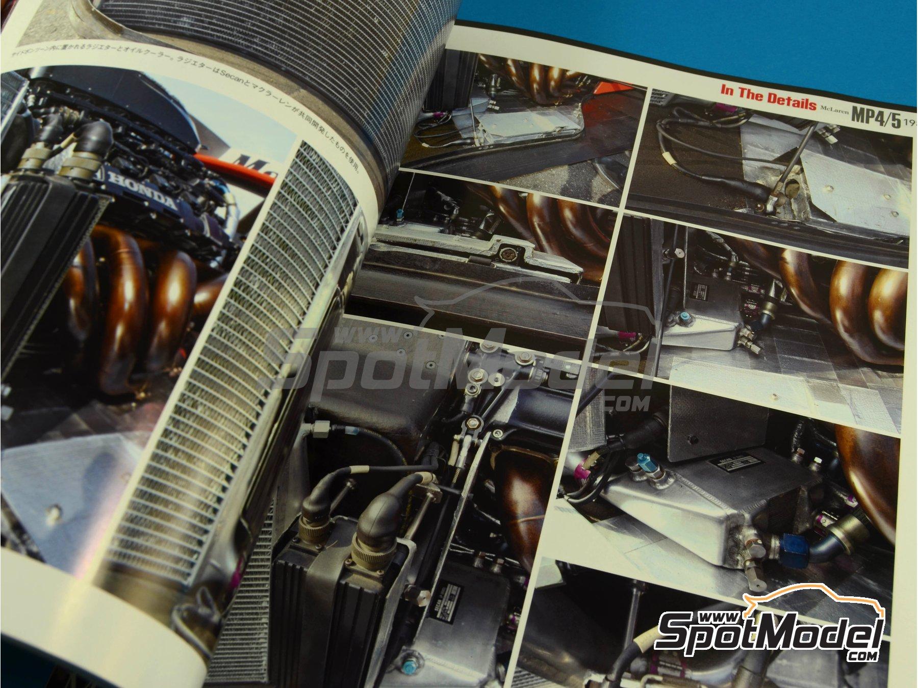 Image 13: JOE HONDA Racing Pictorial Series - McLaren MP4/5 - FIA Formula 1 World Championship 1989 | Reference / walkaround book manufactured by Model Factory Hiro (ref.MFH-JH30)