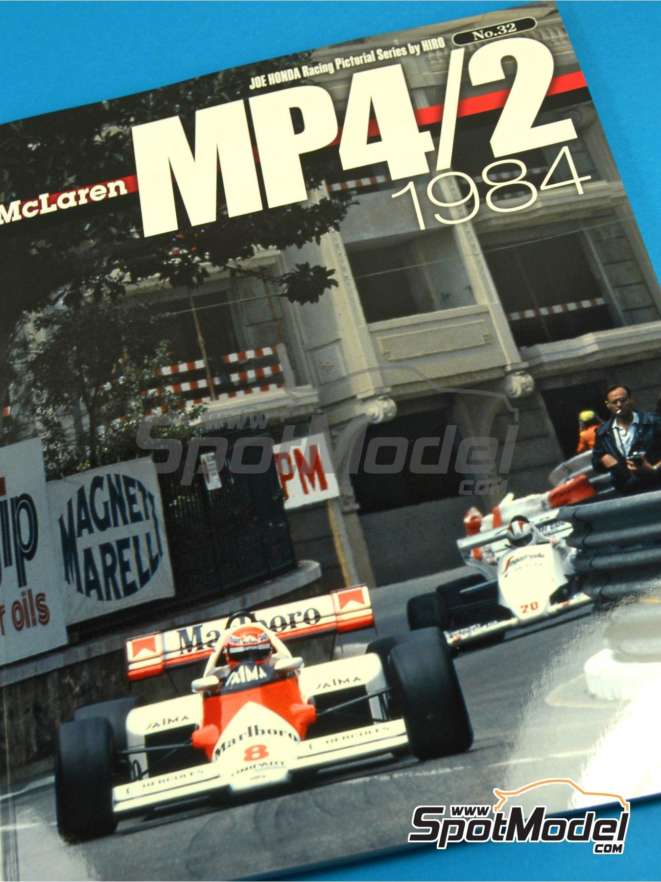 JOE HONDA Racing Pictorial Series - MP4/2 | Libro de referencia fabricado por Model Factory Hiro (ref.MFH-JH32) image