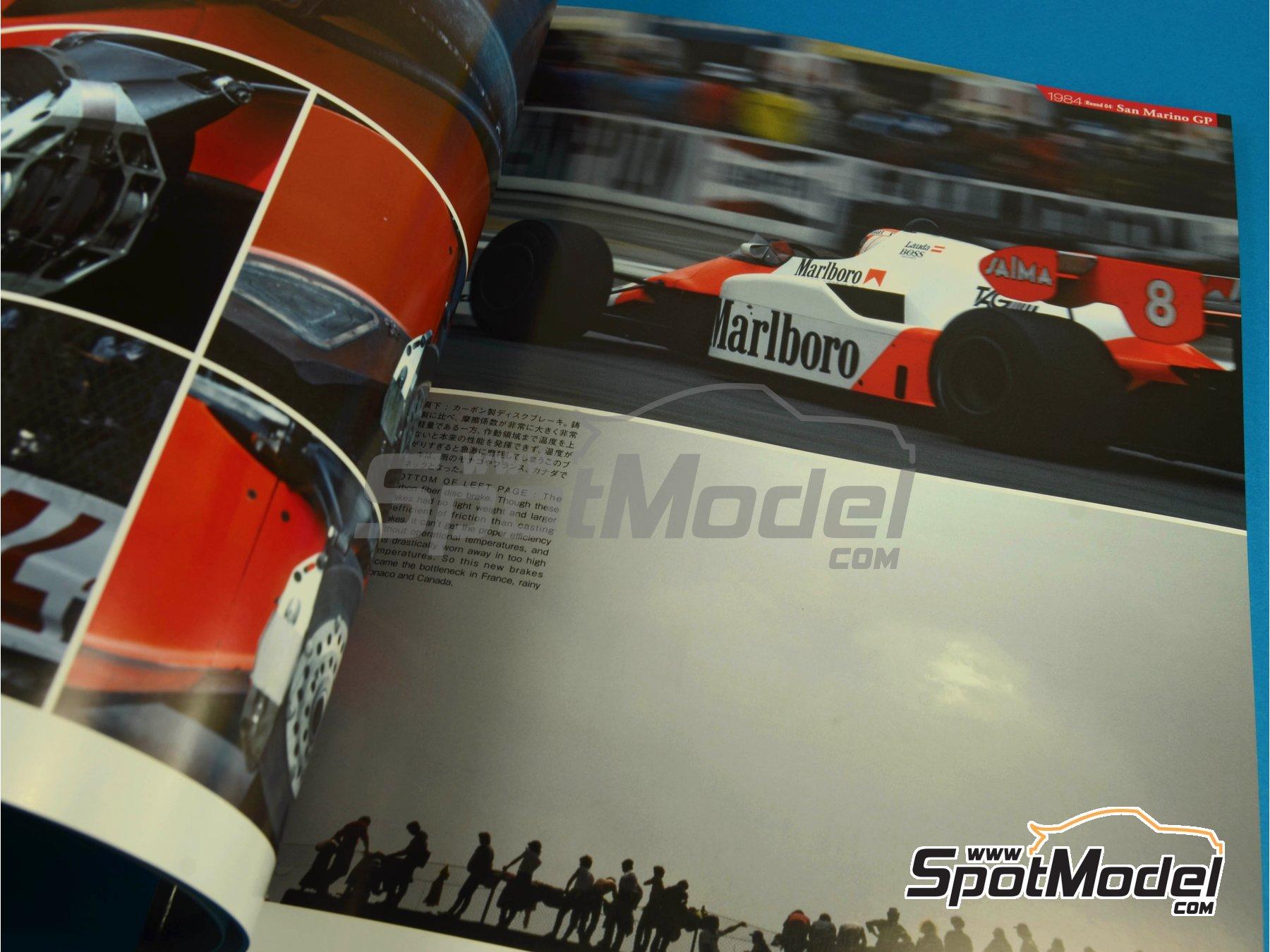 Image 3: JOE HONDA Racing Pictorial Series - MP4/2 | Libro de referencia fabricado por Model Factory Hiro (ref.MFH-JH32)