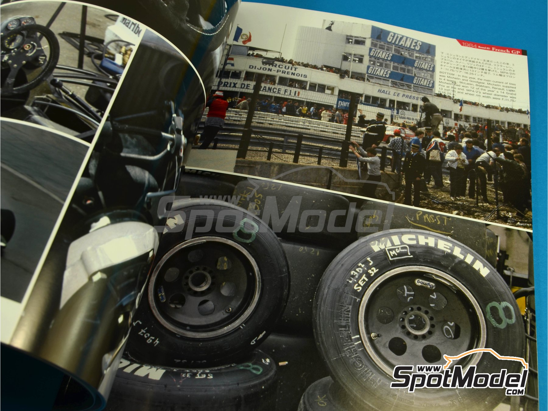 Image 4: JOE HONDA Racing Pictorial Series - MP4/2 | Libro de referencia fabricado por Model Factory Hiro (ref.MFH-JH32)