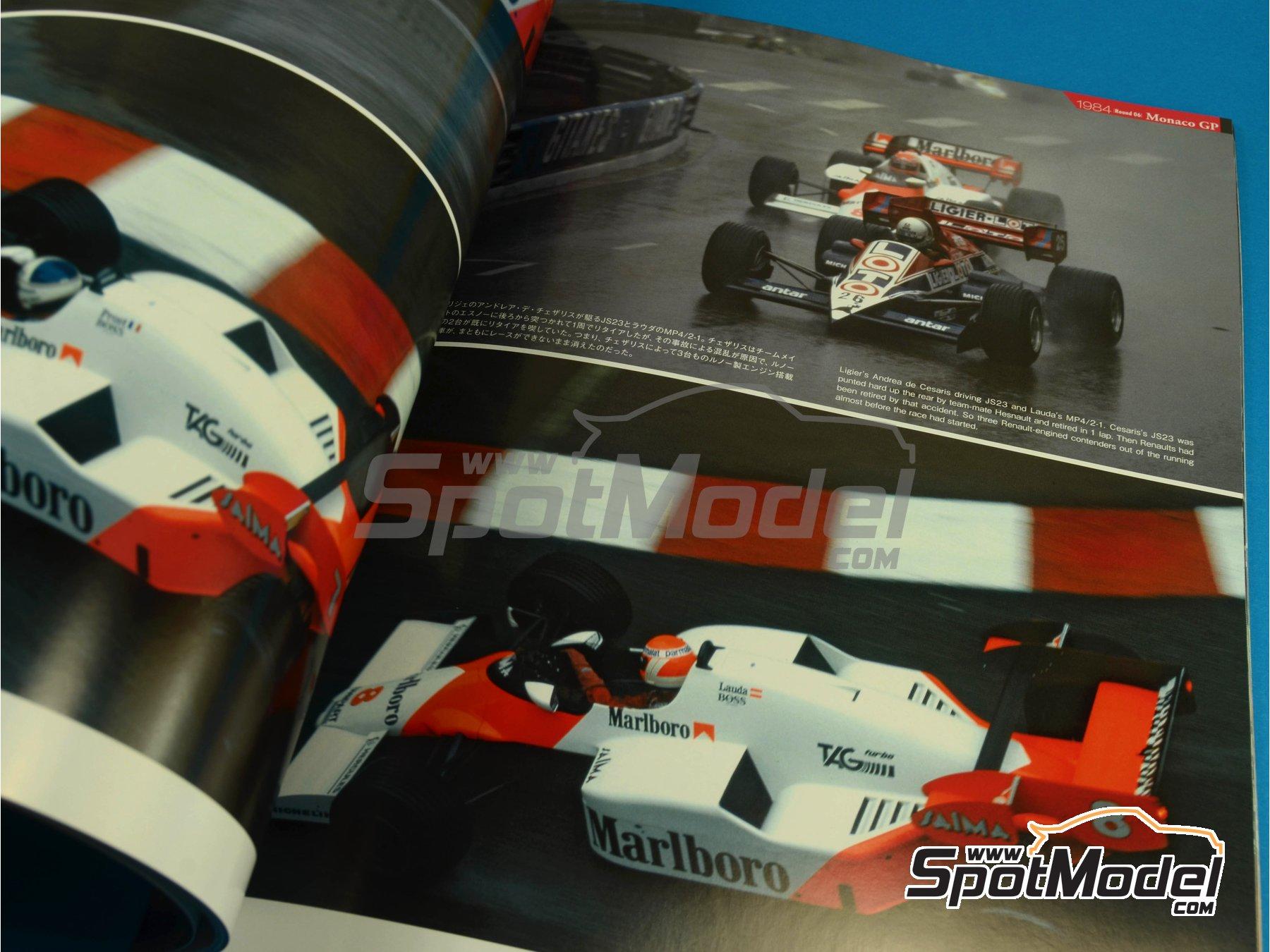Image 5: JOE HONDA Racing Pictorial Series - MP4/2 | Libro de referencia fabricado por Model Factory Hiro (ref.MFH-JH32)