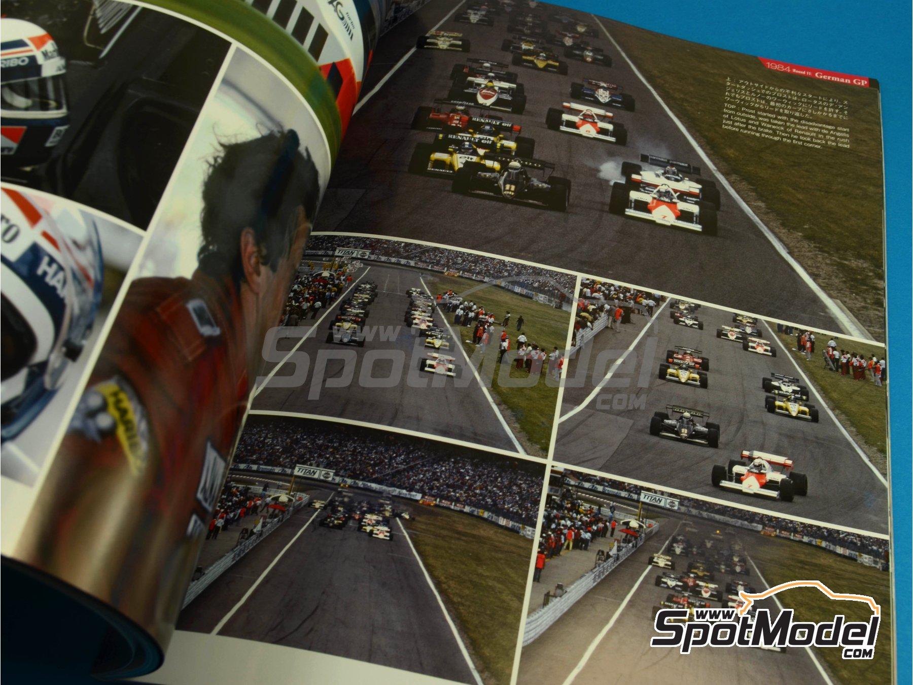 Image 6: JOE HONDA Racing Pictorial Series - MP4/2 | Libro de referencia fabricado por Model Factory Hiro (ref.MFH-JH32)