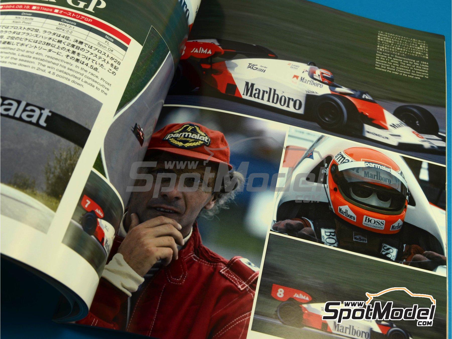 Image 7: JOE HONDA Racing Pictorial Series - MP4/2 | Libro de referencia fabricado por Model Factory Hiro (ref.MFH-JH32)