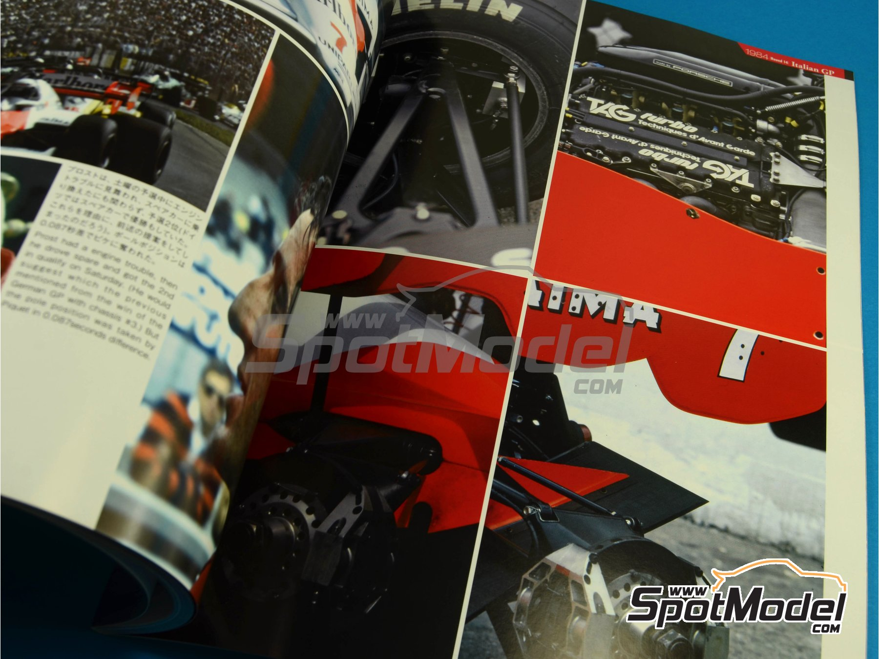 Image 8: JOE HONDA Racing Pictorial Series - MP4/2 | Libro de referencia fabricado por Model Factory Hiro (ref.MFH-JH32)