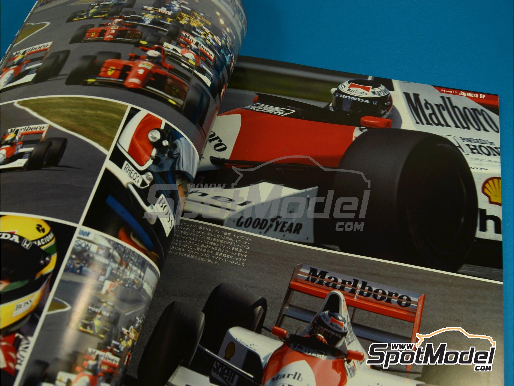 Image 5: JOE HONDA Racing Pictorial Series - MP4/5B - FIA Formula 1 World Championship 1990 | Reference / walkaround book manufactured by Model Factory Hiro (ref.MFH-JH34)