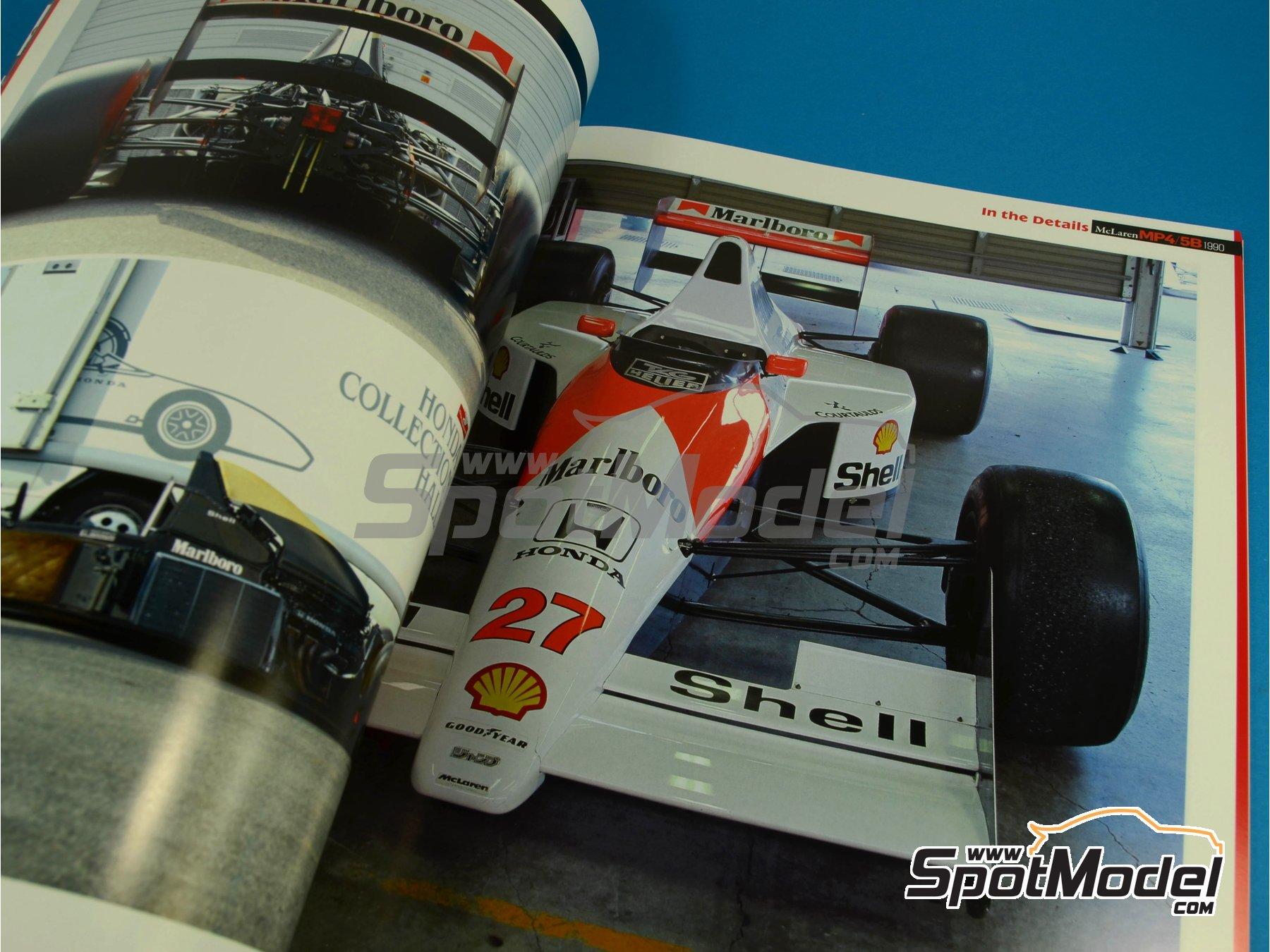 Image 6: JOE HONDA Racing Pictorial Series - MP4/5B - FIA Formula 1 World Championship 1990 | Reference / walkaround book manufactured by Model Factory Hiro (ref.MFH-JH34)