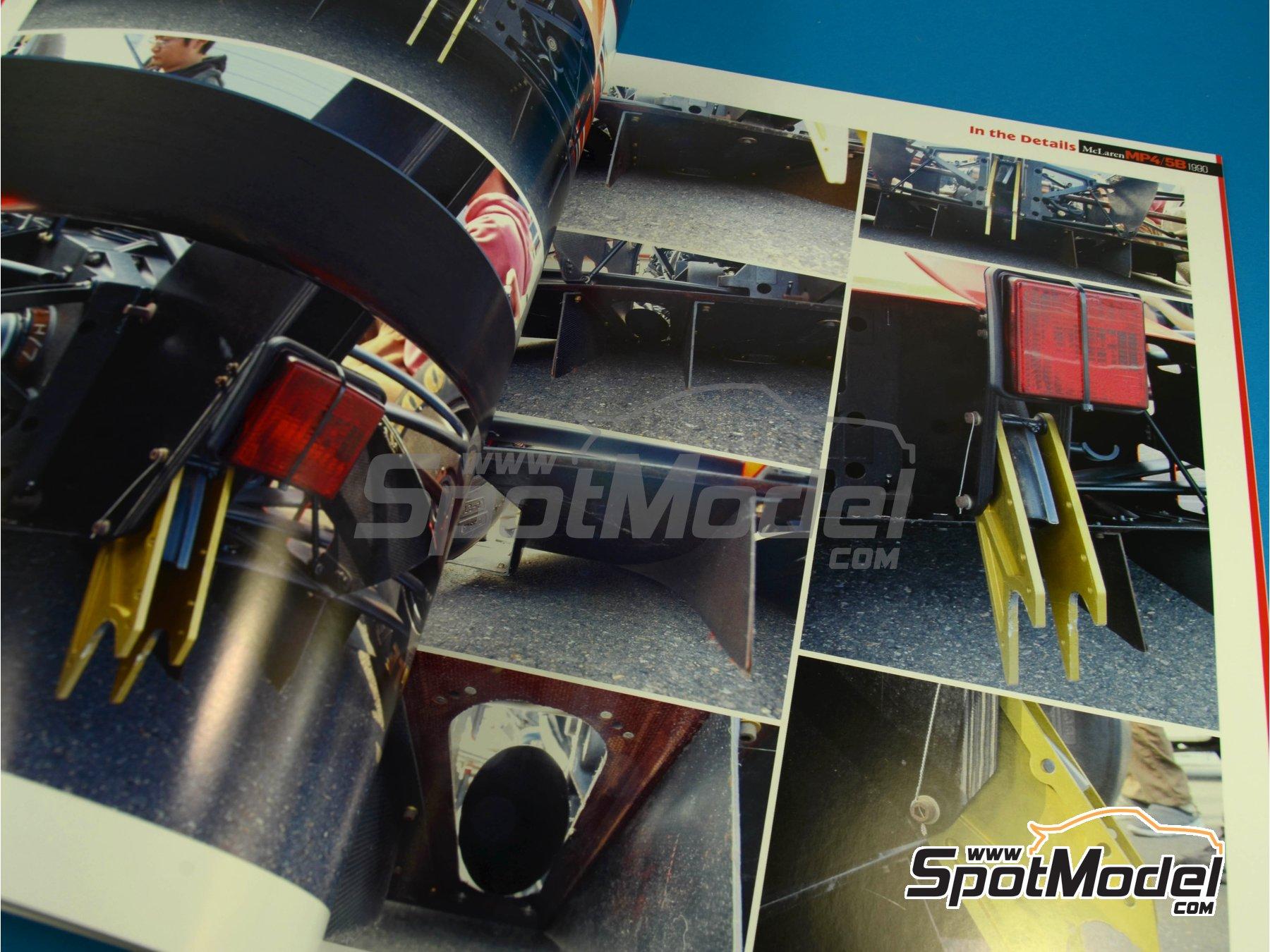 Image 11: JOE HONDA Racing Pictorial Series - MP4/5B - FIA Formula 1 World Championship 1990 | Reference / walkaround book manufactured by Model Factory Hiro (ref.MFH-JH34)