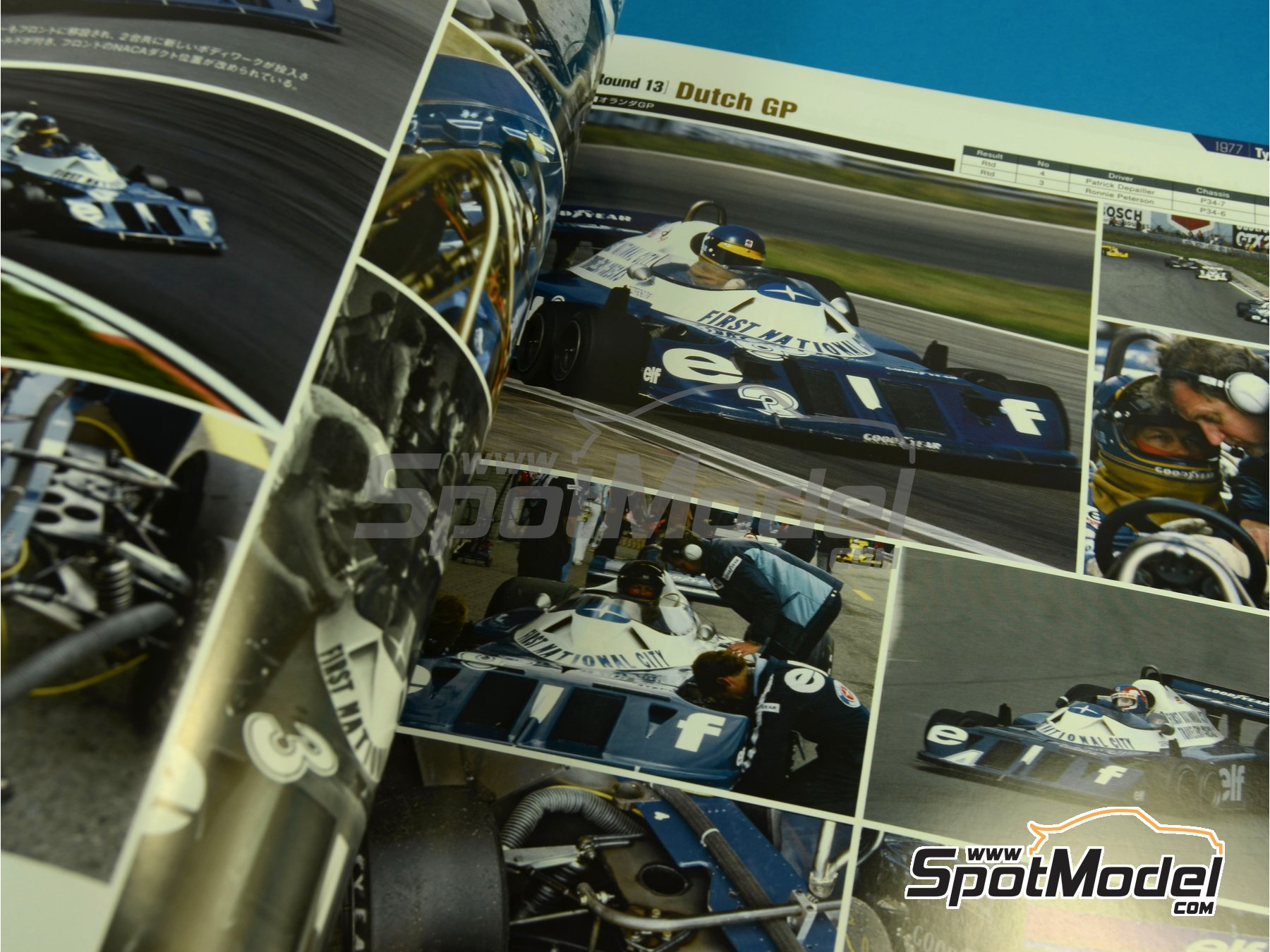 Image 3: Joe Honda Racing Pictorial Series - Grand Prix 1977, Part 01 | Reference / walkaround book manufactured by Model Factory Hiro (ref. MFH-JH35)